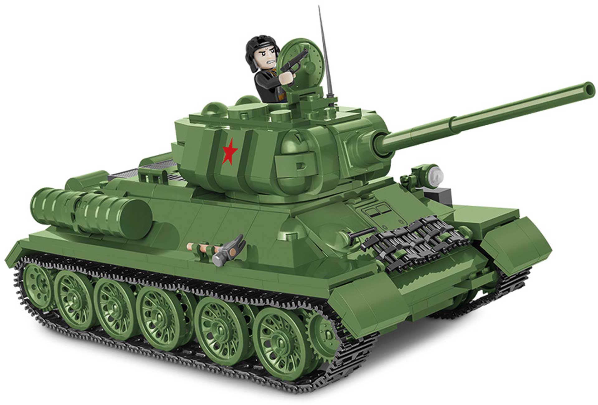 COBI T-34-85 Panzer (2in1) (668 Teile) Klemmbausteine