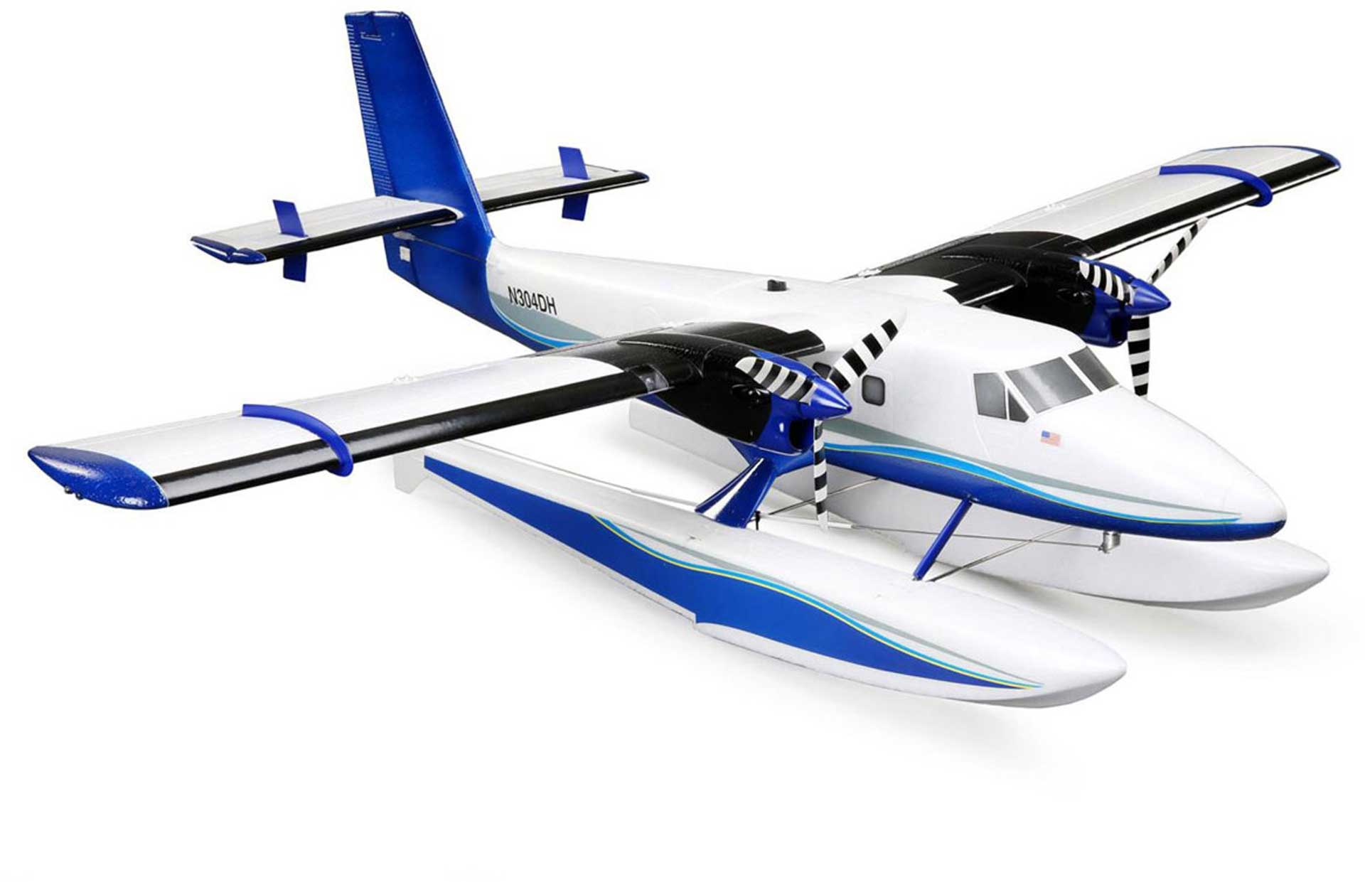 E-Flite Twin Otter BNF Basic w/AS3X, SAFE,&Floats