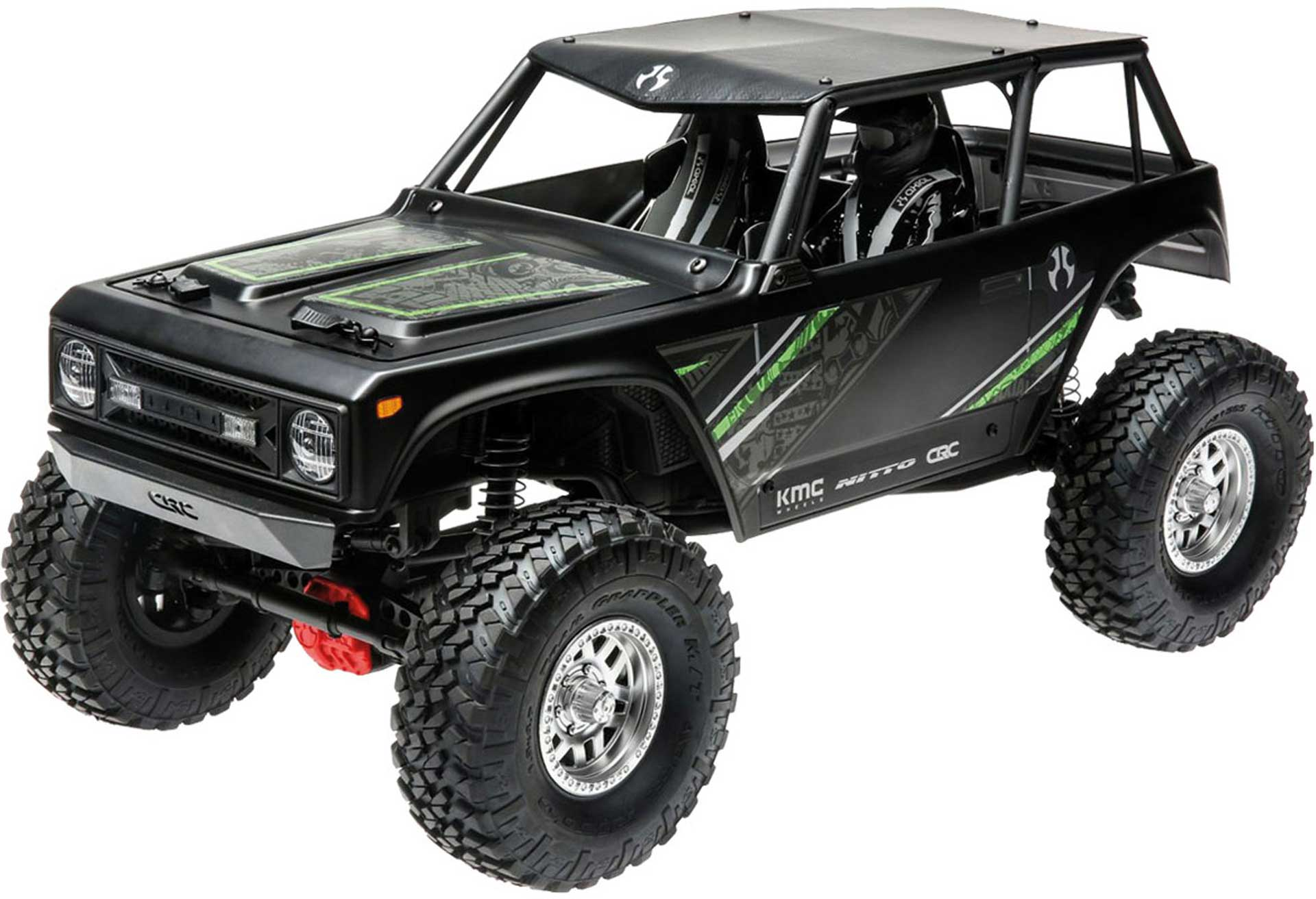 AXIAL WRAITH 1.9 4WD BRUSHED RTR, BLACK 1/10 CRAWLER
