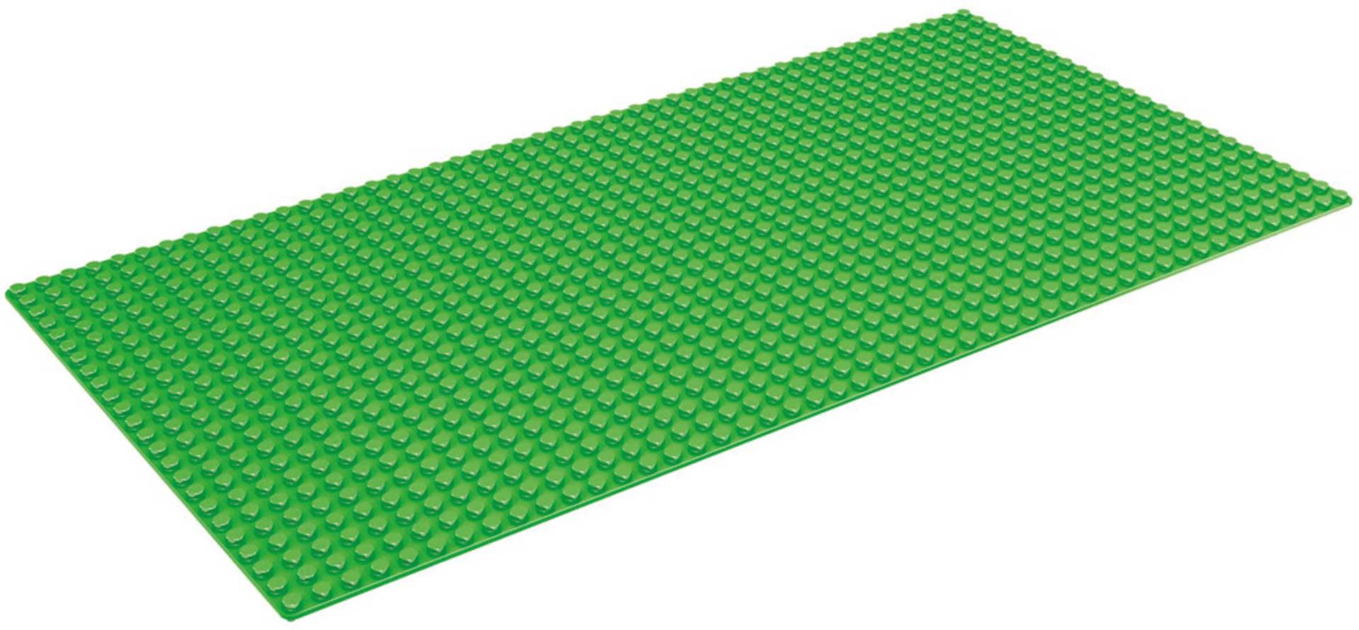 Wange Grundplatte grün 24x48 Noppen ca 38,5cm x 19cm