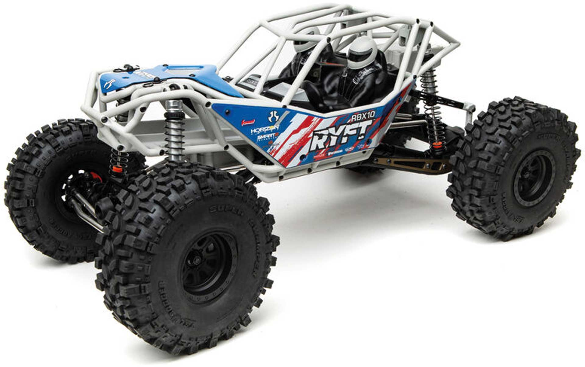 AXIAL RBX10 Ryft 4WD Rock Bouncer Kit, Gray 1/10 EP