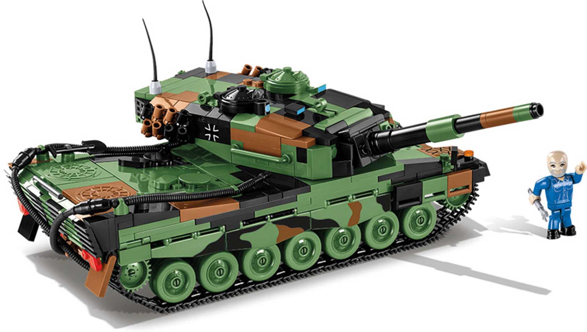COBI Leopard 2 A4 (864 Teile) Klemmbausteine