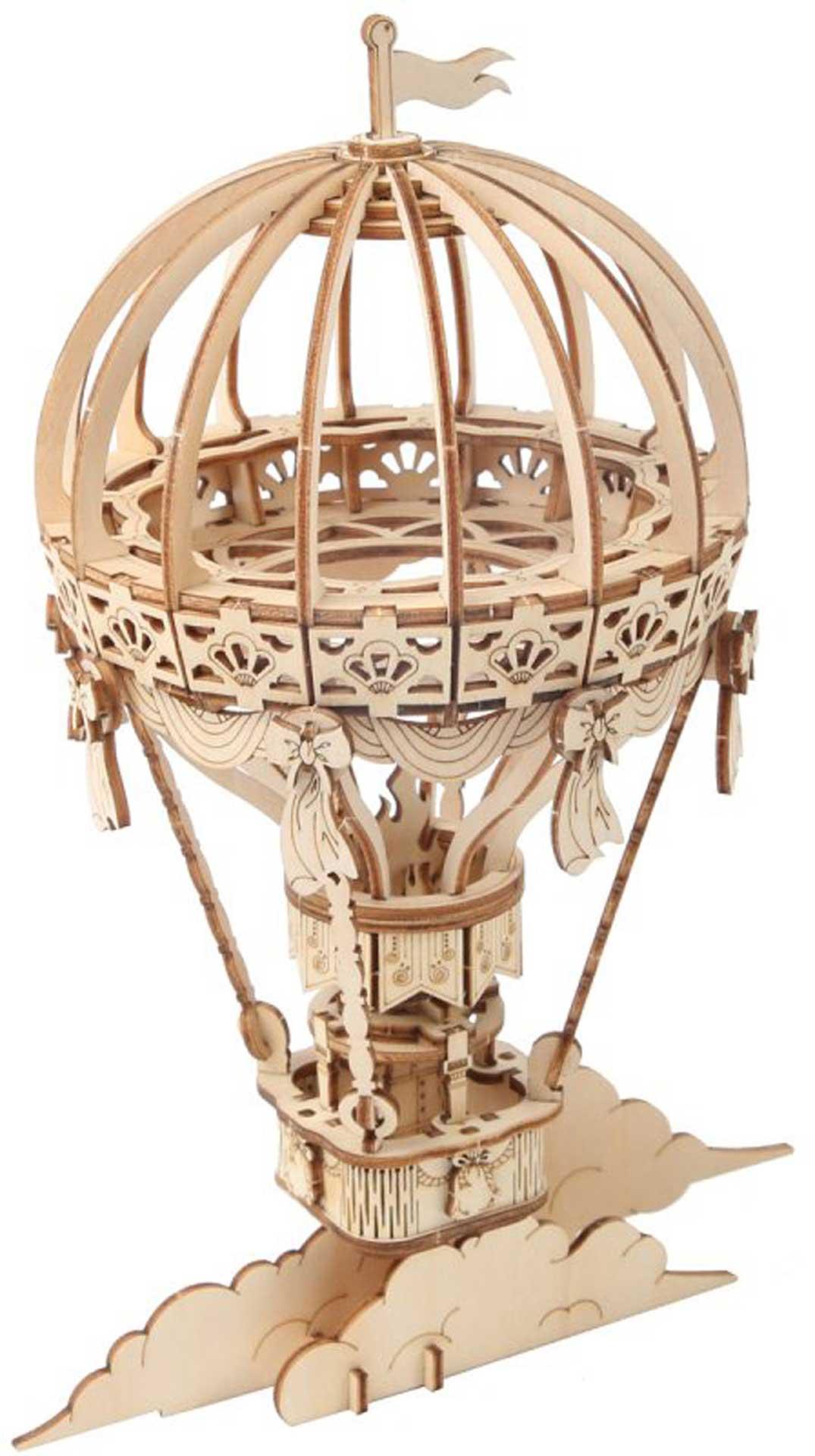 PICHLER Heißluftballon (Lasercut Holzbausatz)