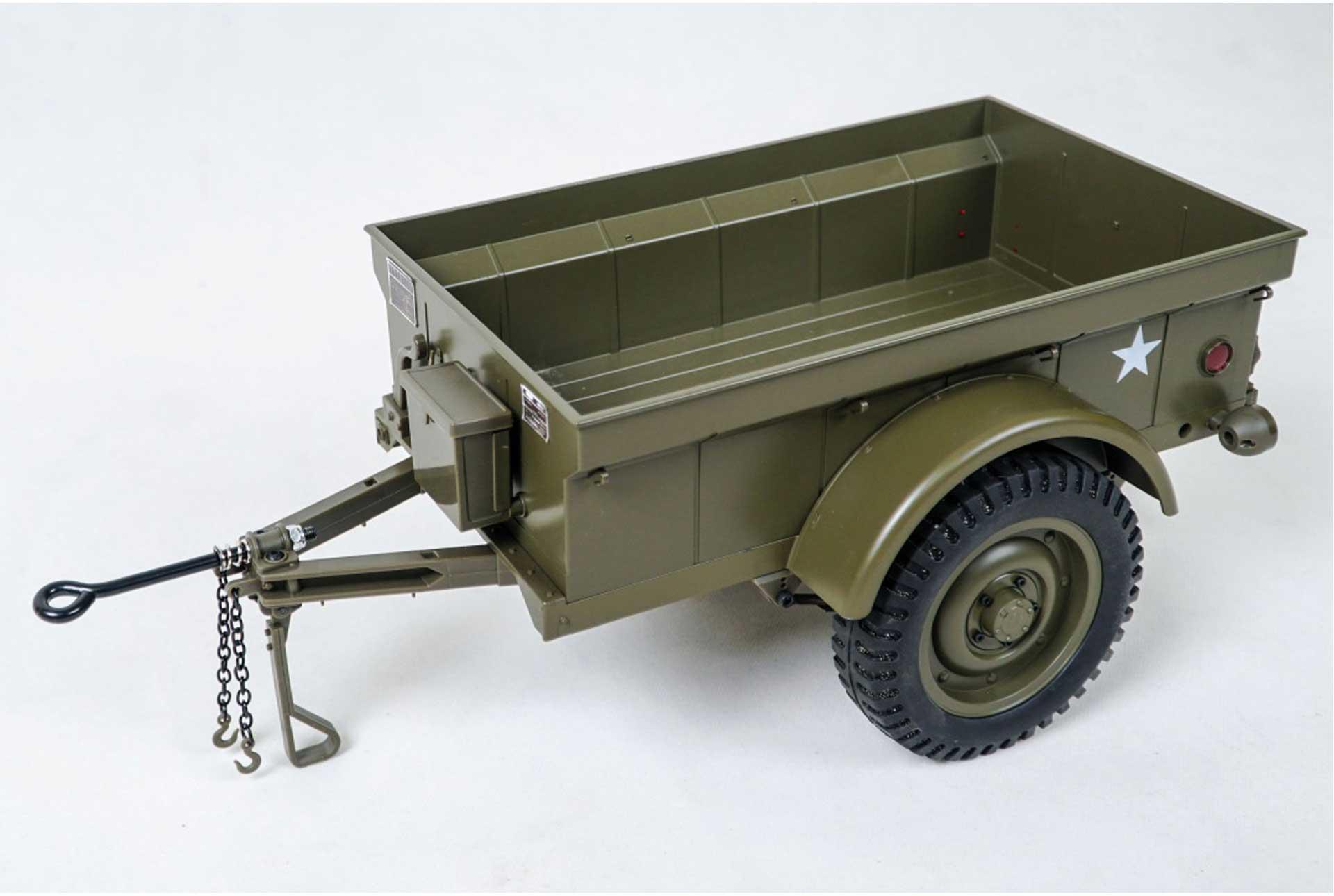 ROC HOBBY MB Scaler 1:6 - Anhänger für Crawler Jeep 1941 1/10