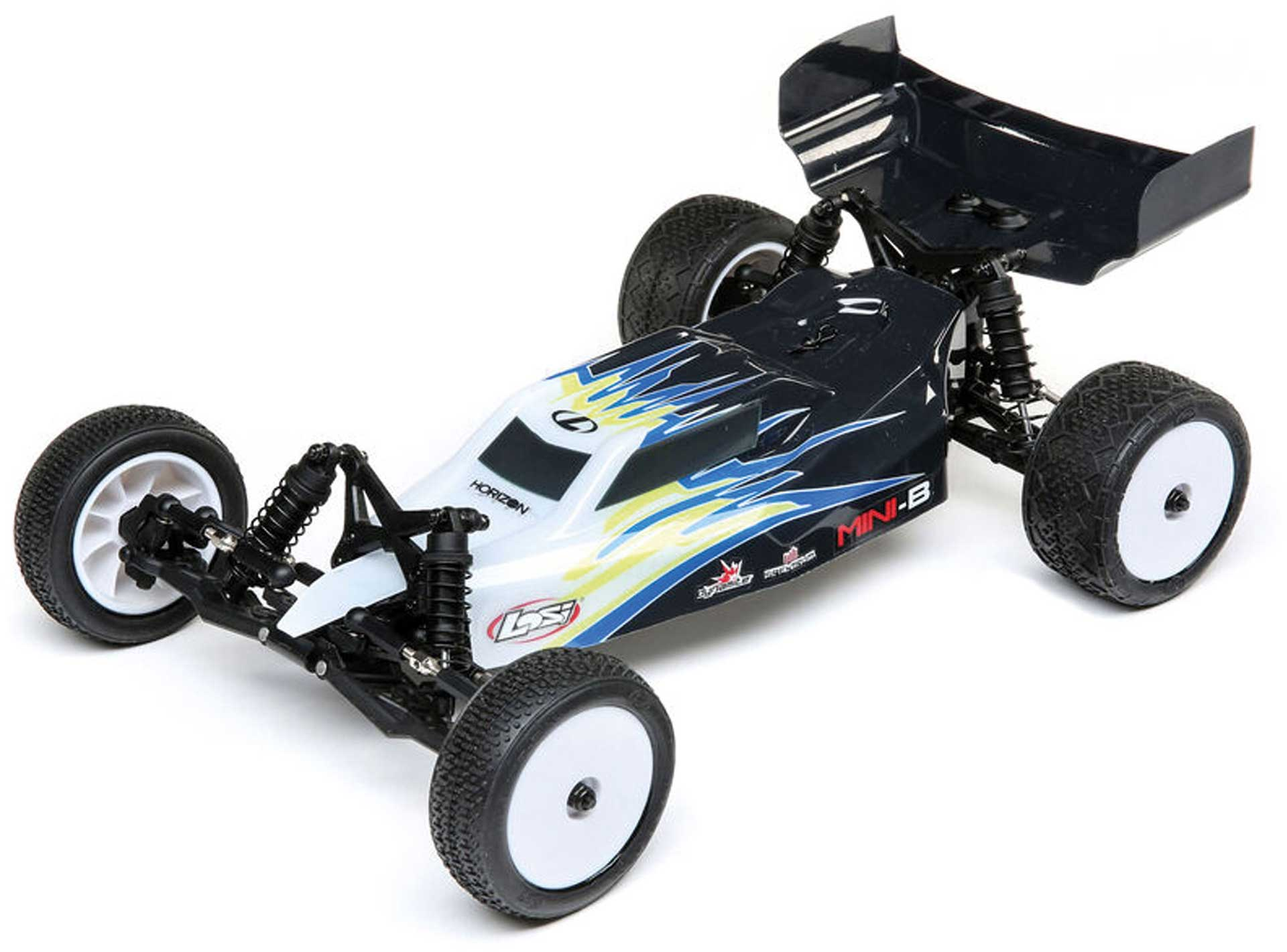 LOSI Mini-B Brushed RTR 1/16 2WD Buggy black/white