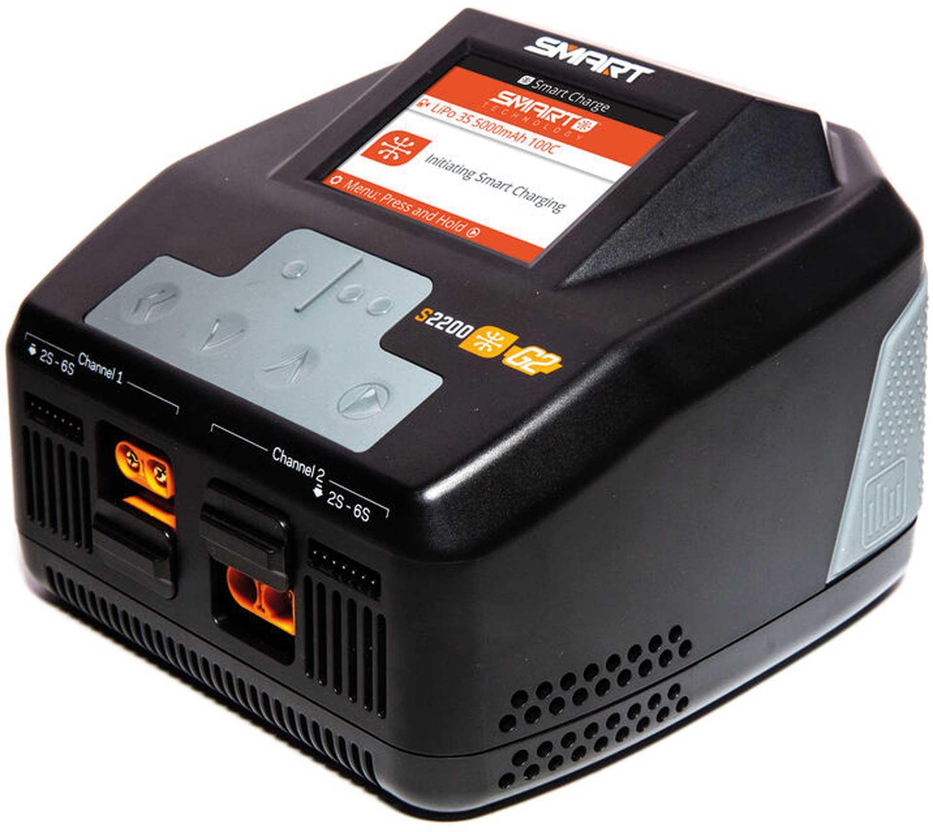 SPEKTRUM Smart G2 AC Ladegerät 2x200W EU