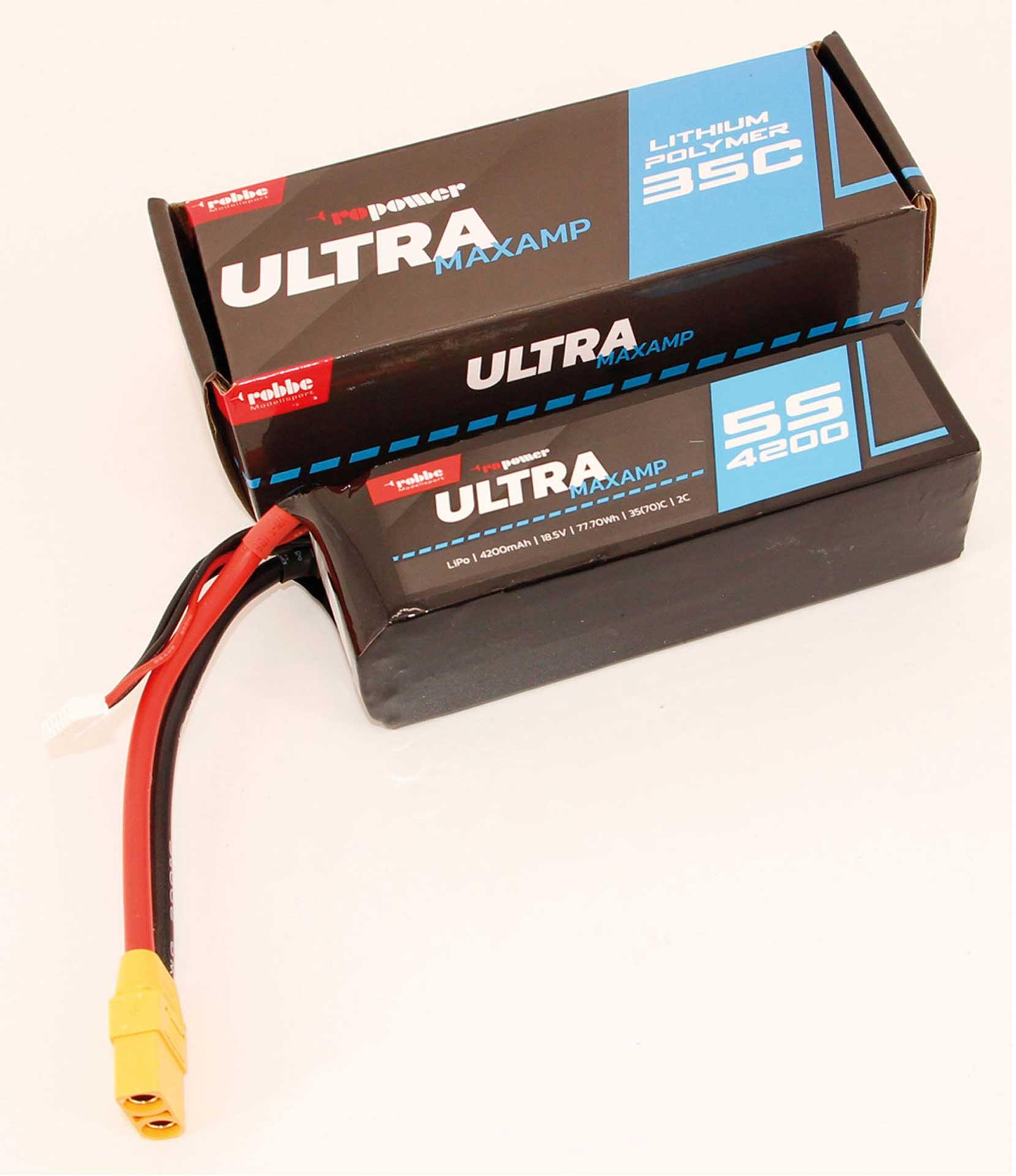 ROBBE RO-POWER ULTRA MAXAMP 4200MAH 18,5 VOLT