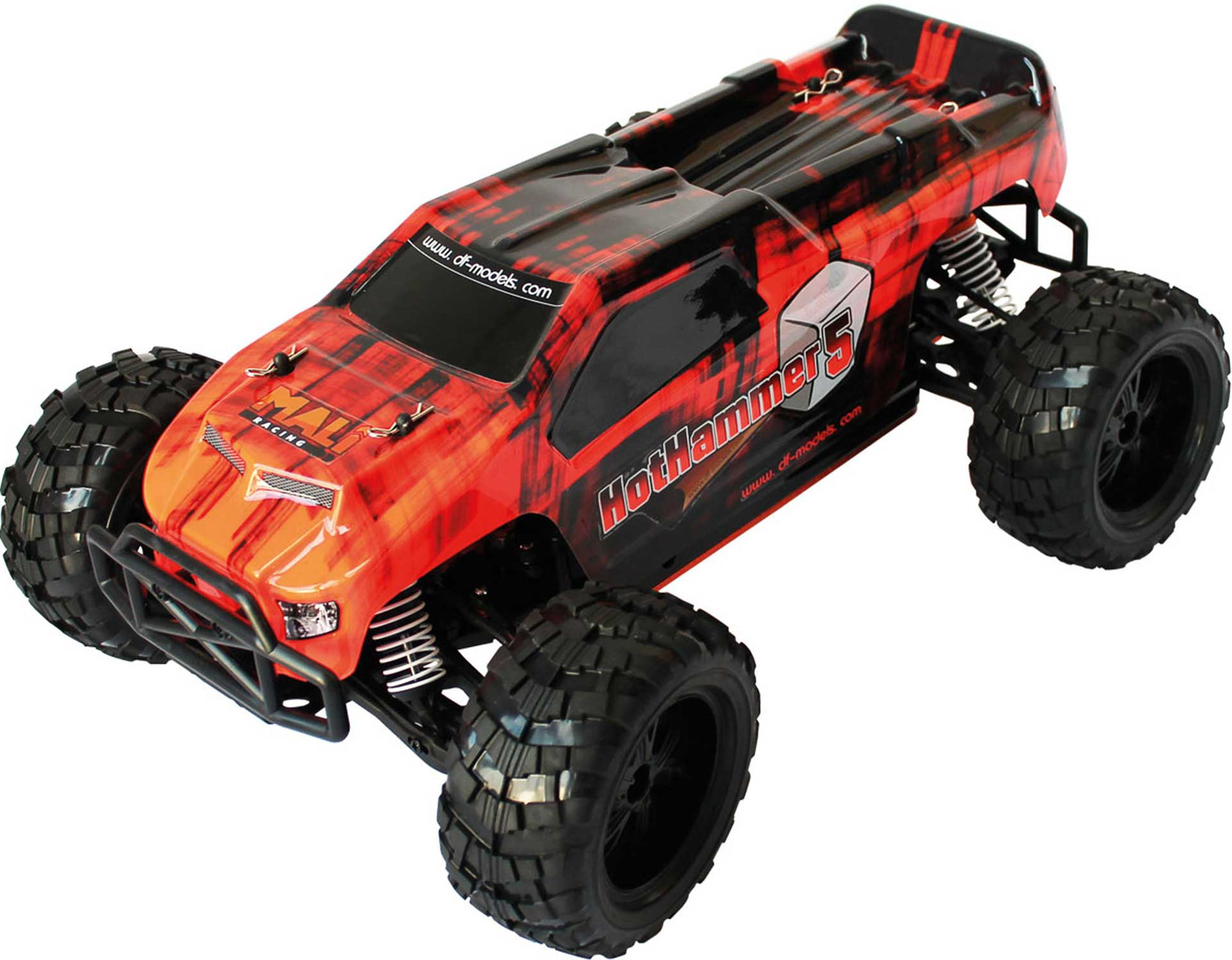 DRIVE & FLY MODELS HOTHAMMER 5 TRUCK BRUSHLESS 1/10XL RTR 4WD