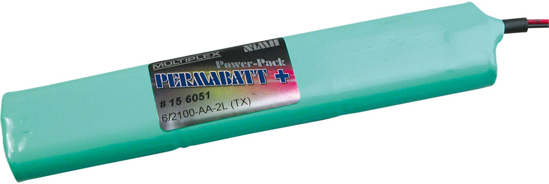 MULTIPLEX TRANSMITTER BATTERY PERMABATT 2100MAH/7 ,2V ROYAL/PRO
