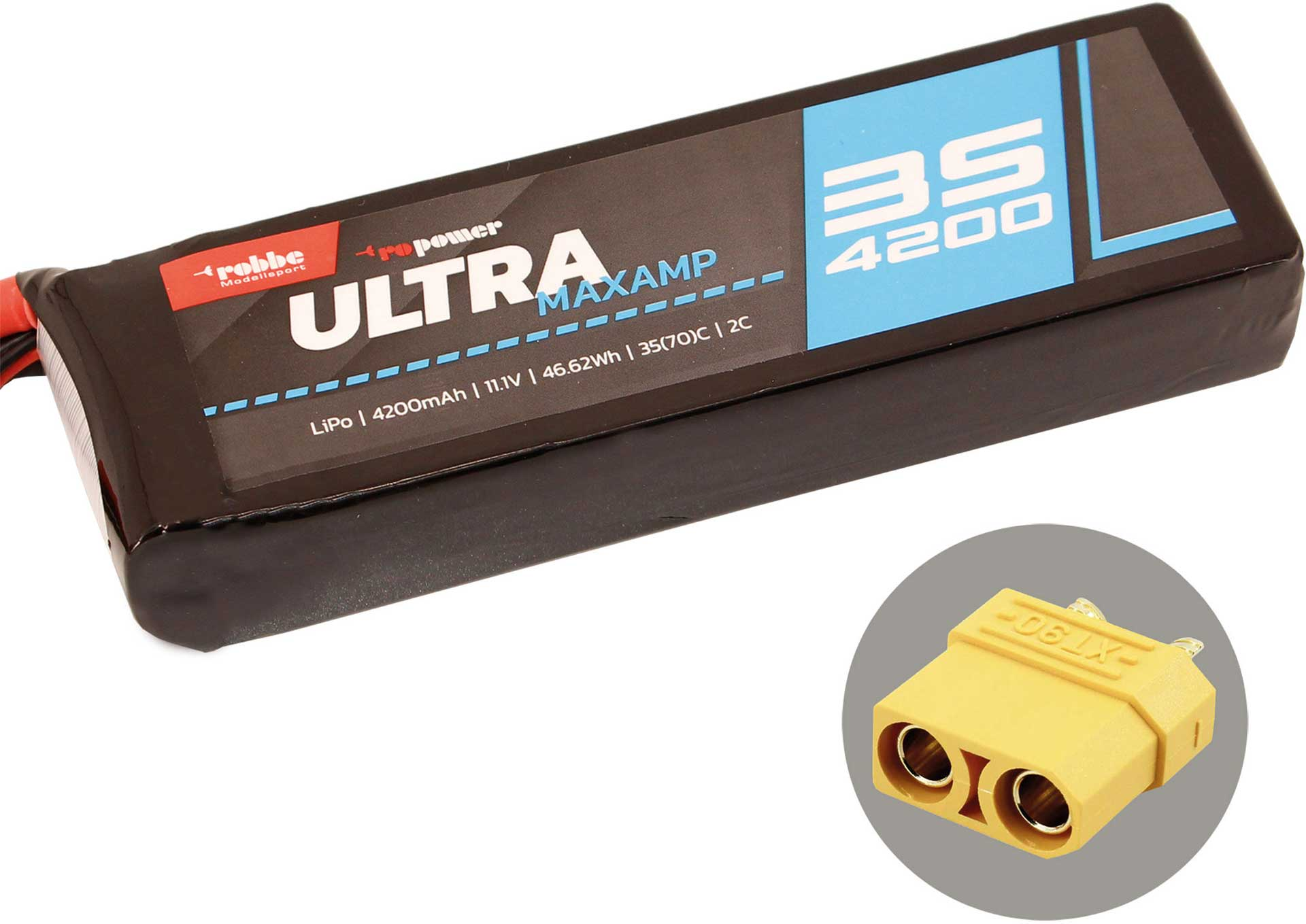 ROBBE RO-POWER ULTRA MAXAMP 4200MAH 11,1 VOLT