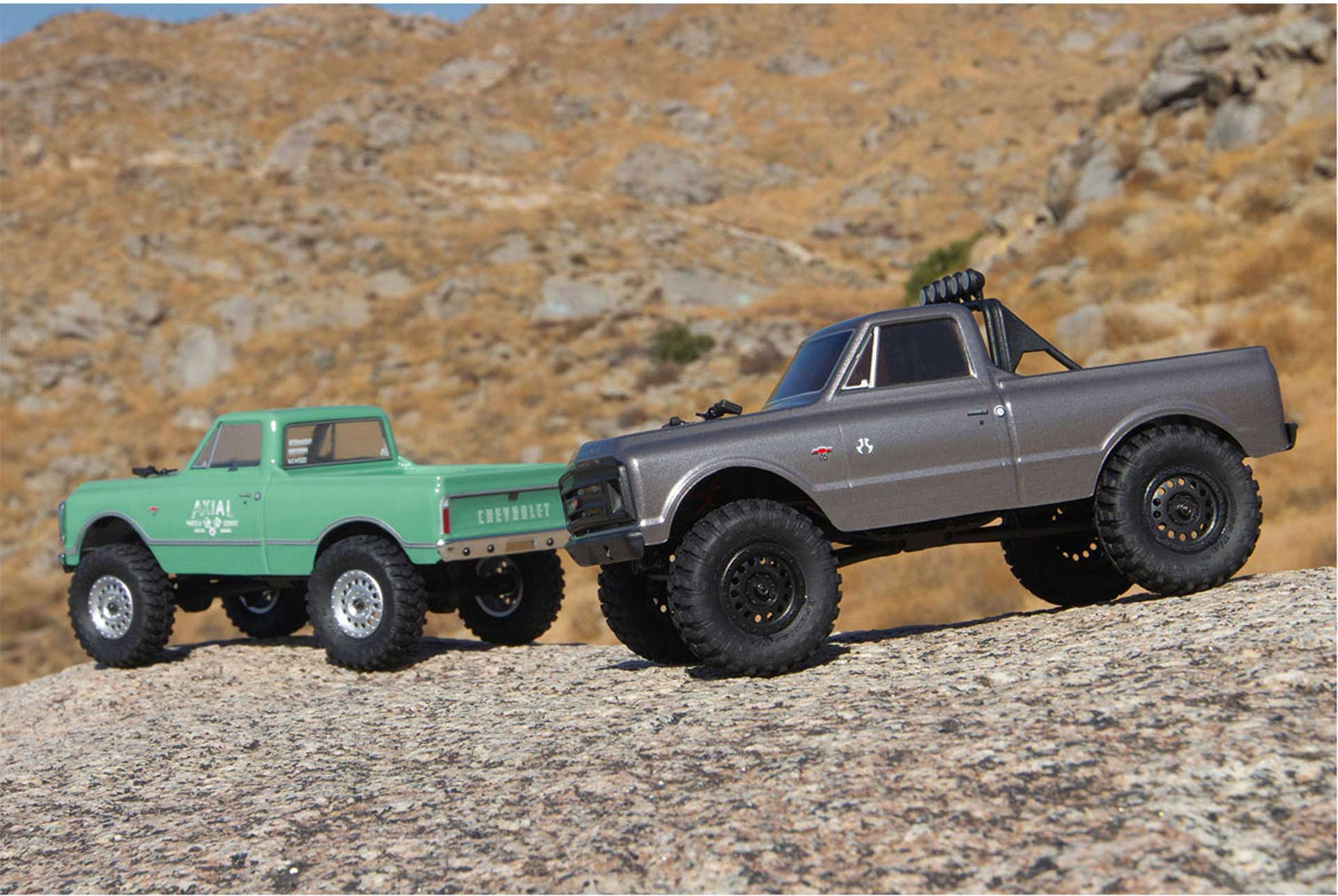 AXIAL SCX24 1967 Chevrolet C10 1/24 4WD RTR Silber