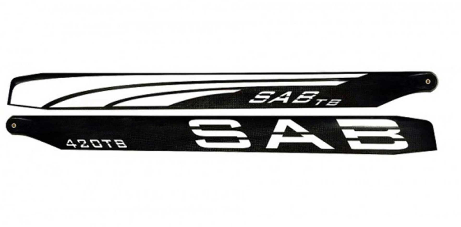 SAB Hauptrotorblätter Thunderbolt TBS 420mm
