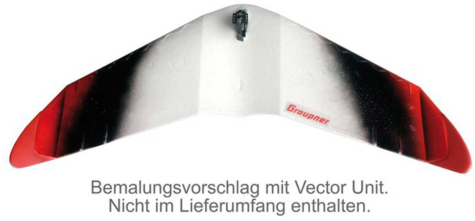 GRAUPNER VECTOR WING VECTOR PLANES FREIFLUGMODELL OPTIONAL FÜR R/C BETRIEB