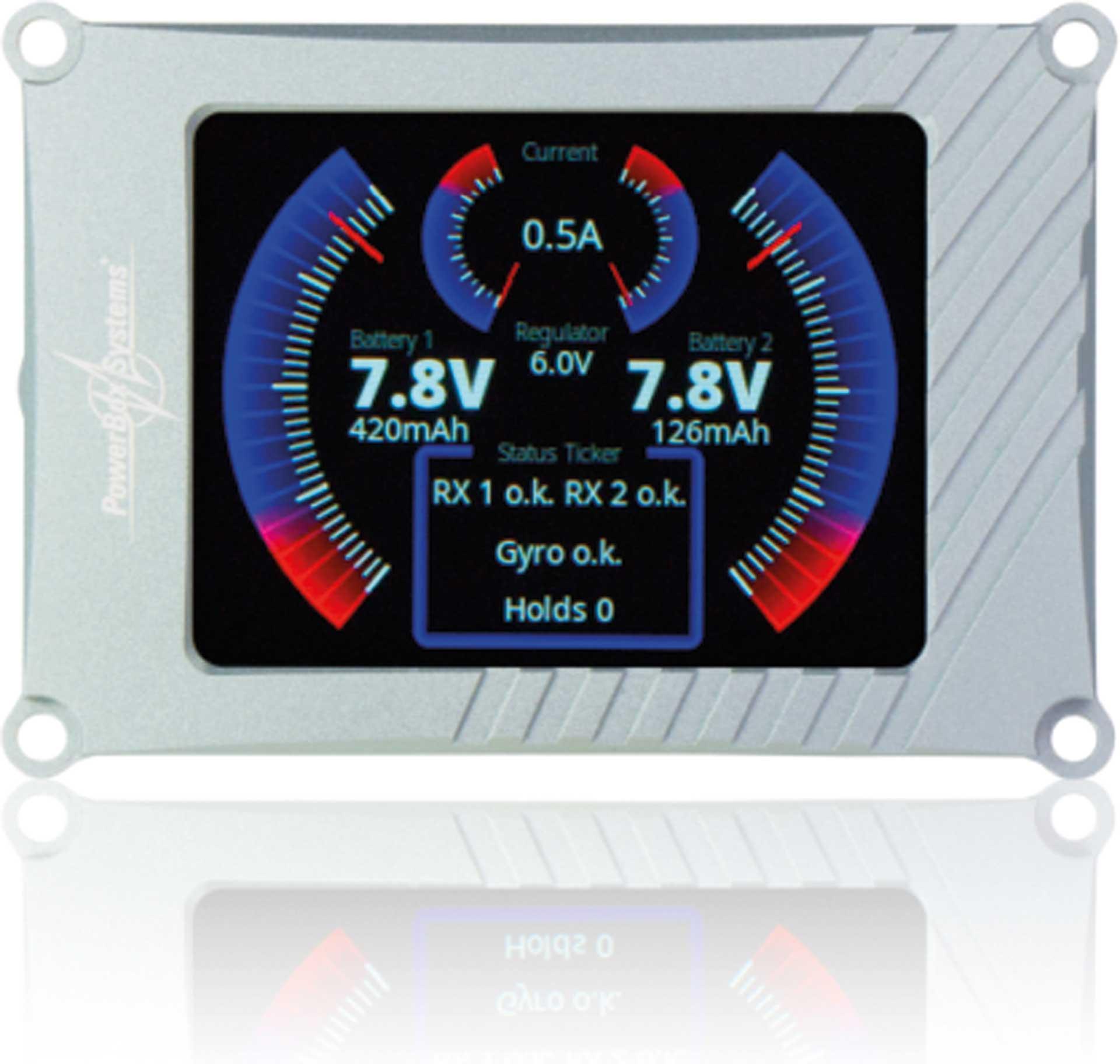 POWERBOX SYSTEMS TFT-Display für Competition SR2 und Royal SR2