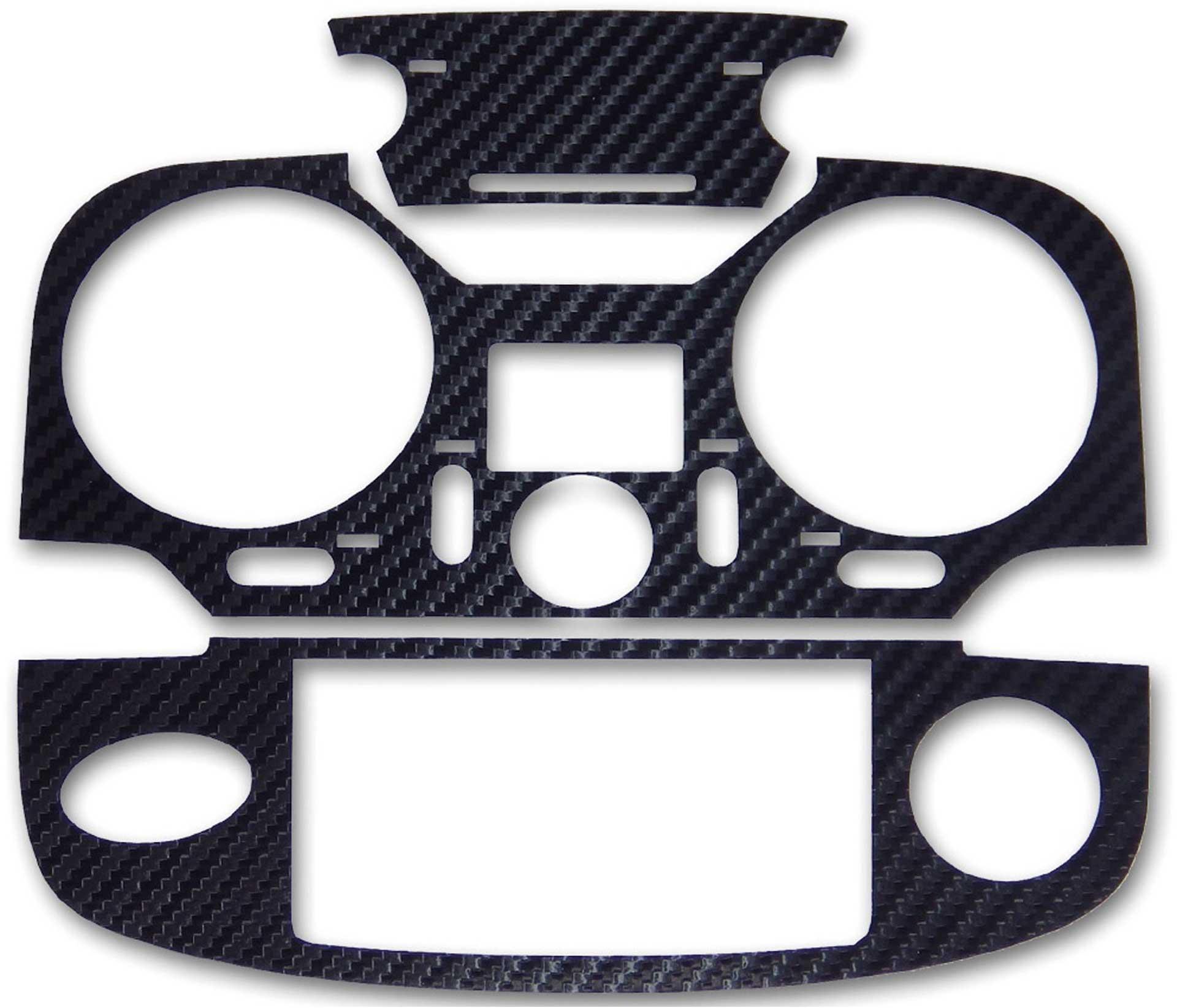 ACT T12K 3D-Folie Carbonlook schwarz