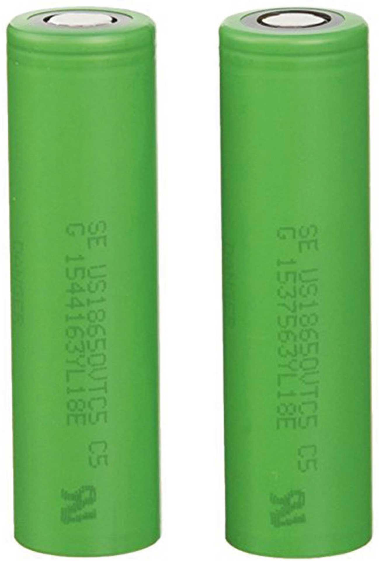 SONY 18650 ZELLE 3,6VOLT 2600MAH 2ER BOX