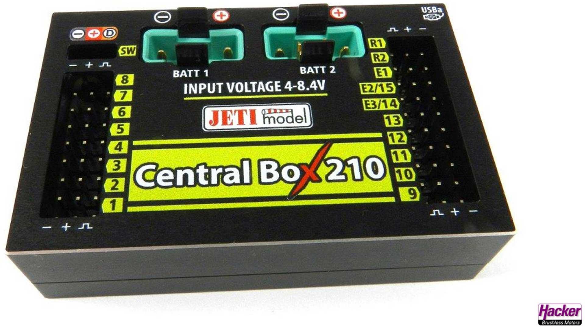 JETI DUPLEX 2.4EX CENTRAL BOX 210