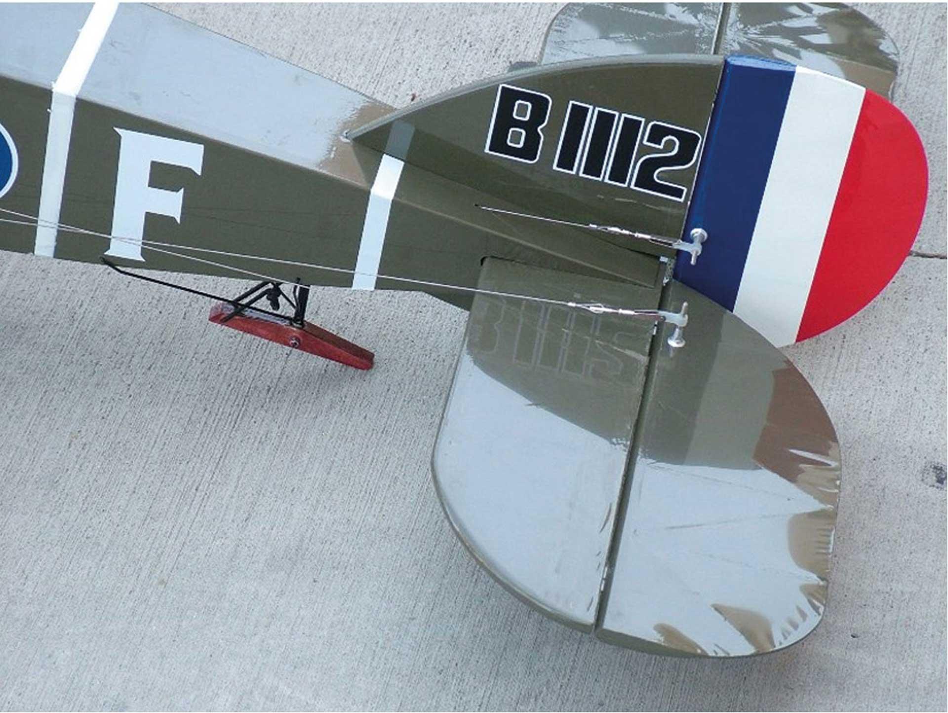 "MAXFORD USA BRISTOL F2B ARF 70"" DOPPELDECKER"
