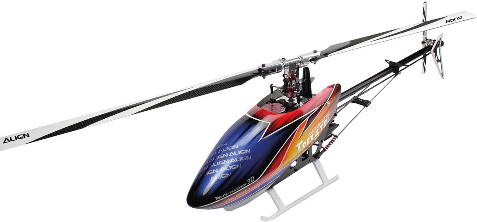ALIGN T-REX 470LM DOMINATOR SUPER COMBO Hubschrauber / Helikopter