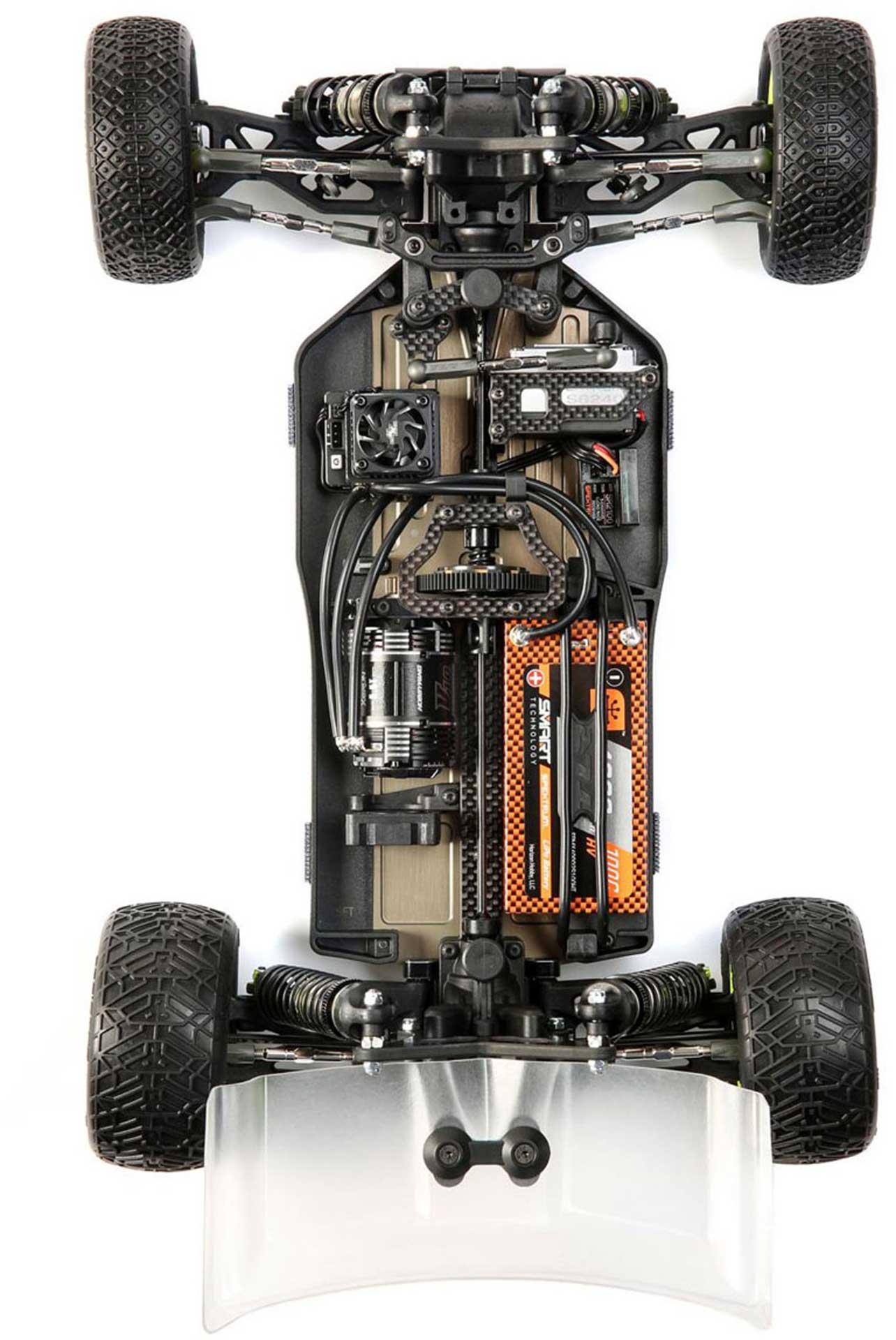 LOSI TLR® 22X-4 RACE KIT 1/10 4WD BUGGY WETTBE WERBS CHASSIS NUR FÜR FORTGESCHRITTENE