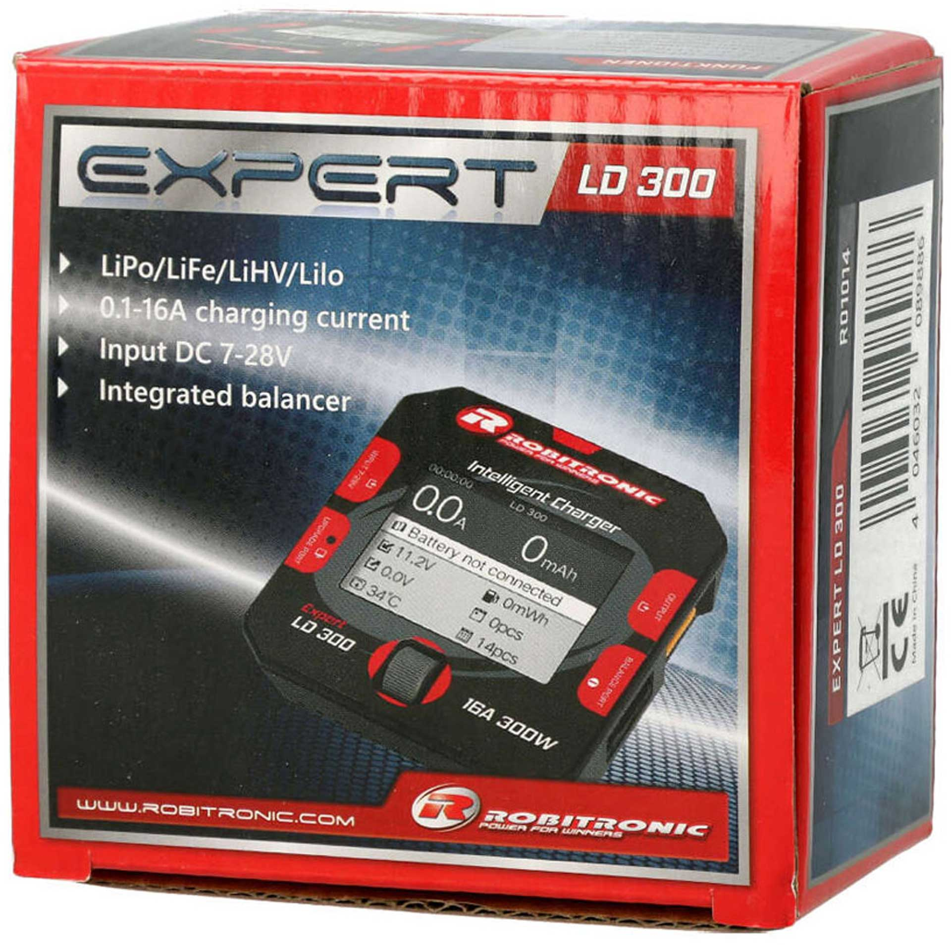 ROBITRONIC EXPERT LD 300 CHARGER 1-6S 16A 300W