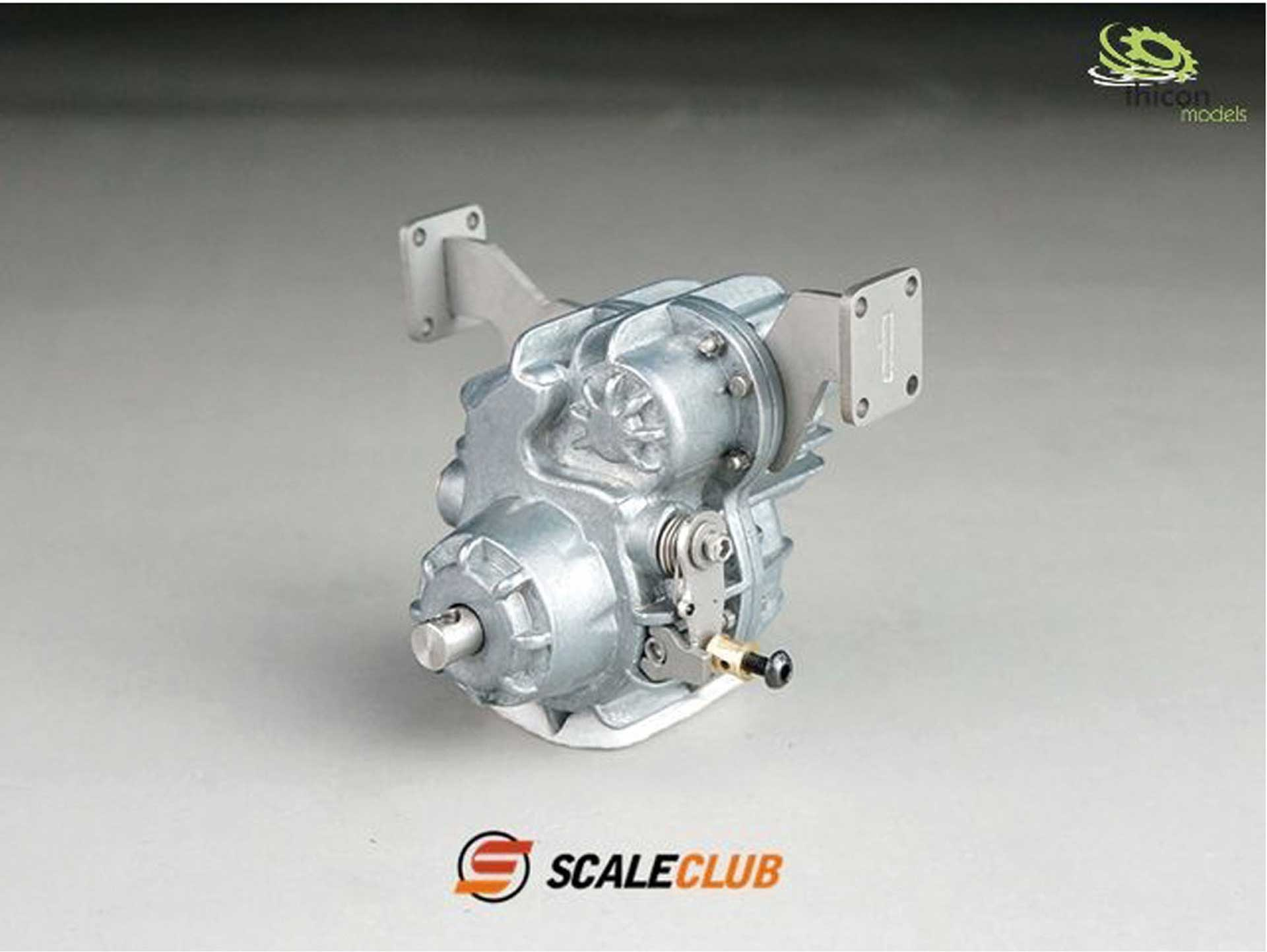 Scale Club Verteilergetriebe mit Differential sperrbar 6:1