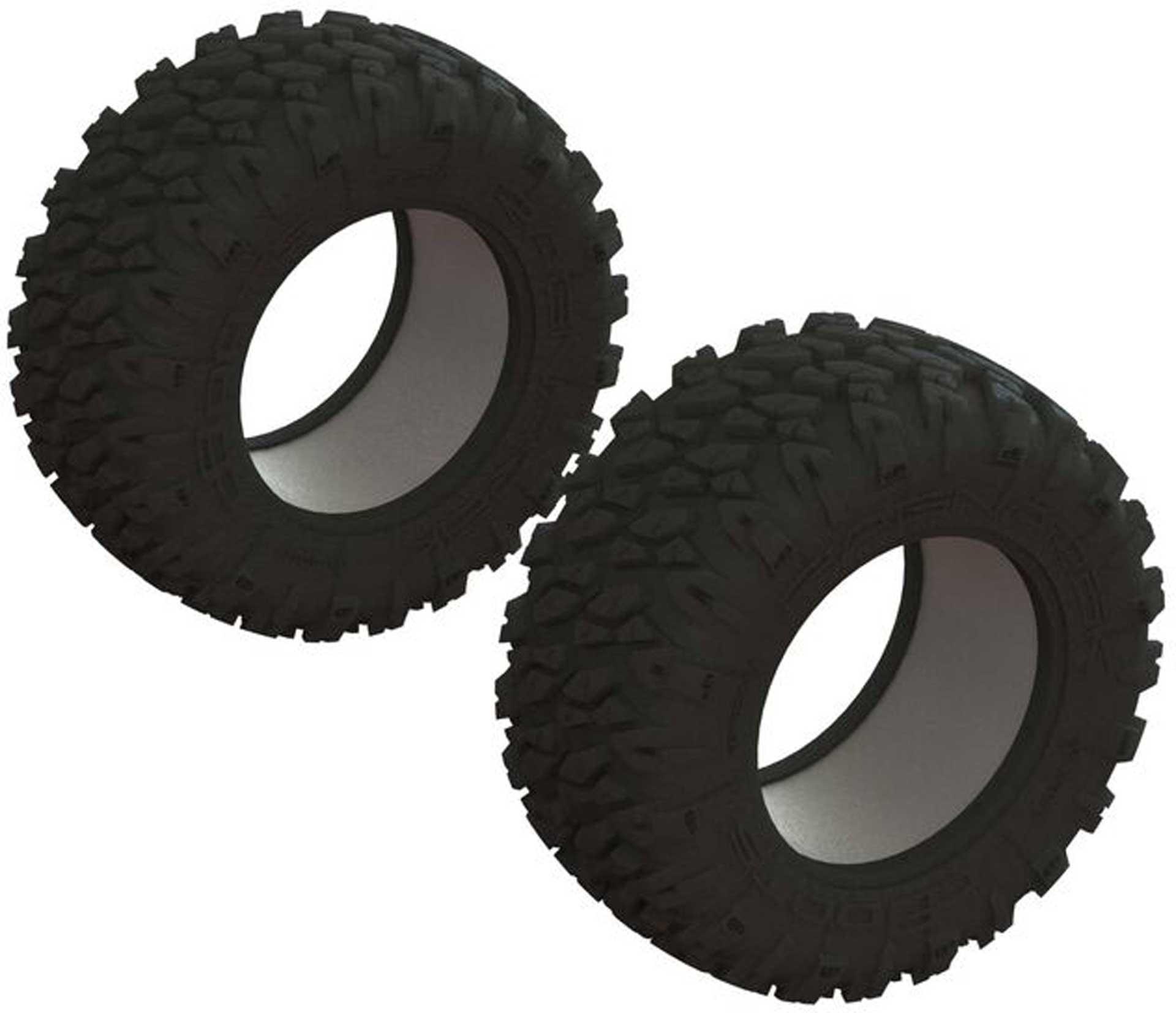 Arrma dBoots 'Ragnarok Mt' Tire & Inserts (2)