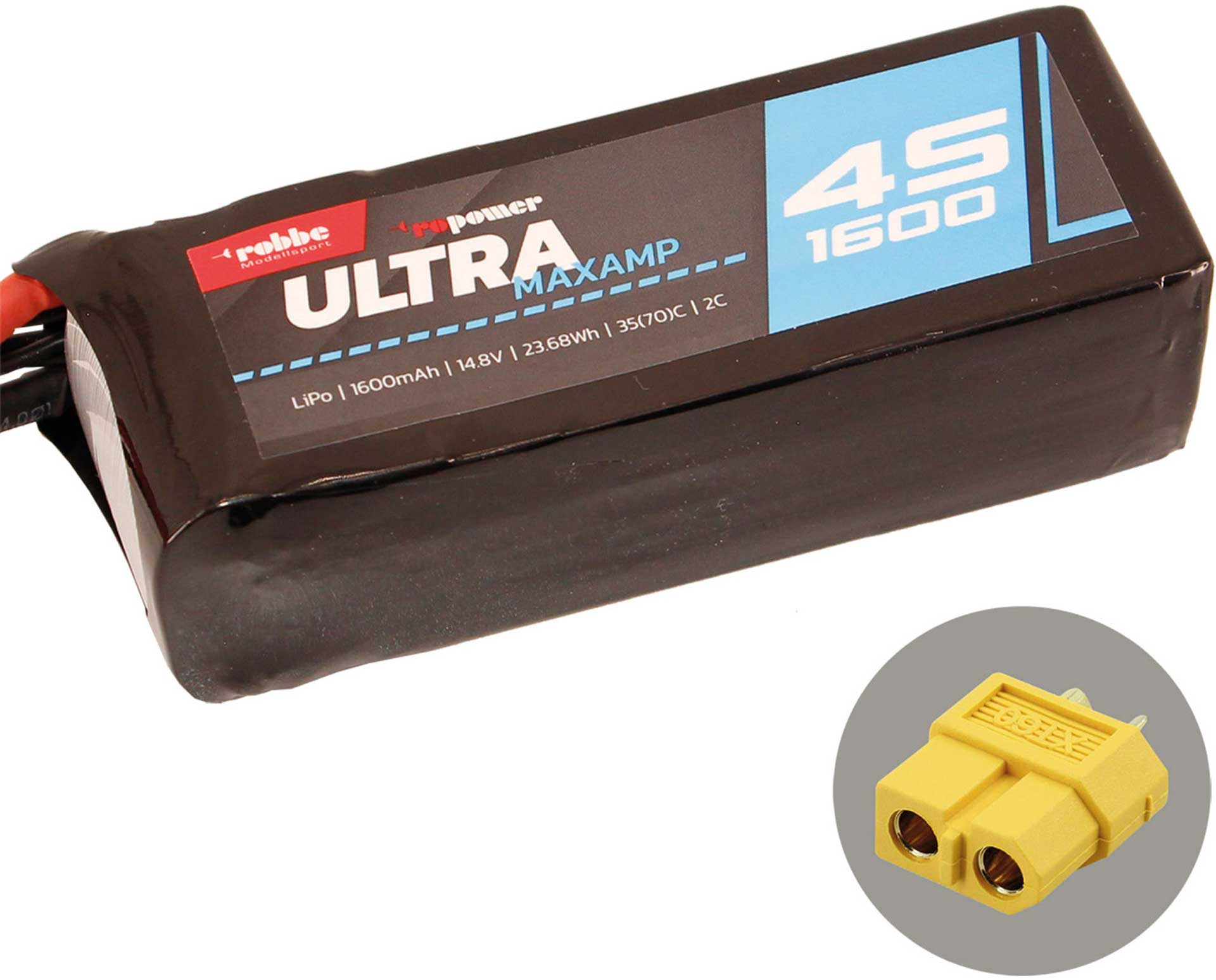 ROBBE RO-POWER ULTRA MAXAMP 1600MAH 14,8 VOLT