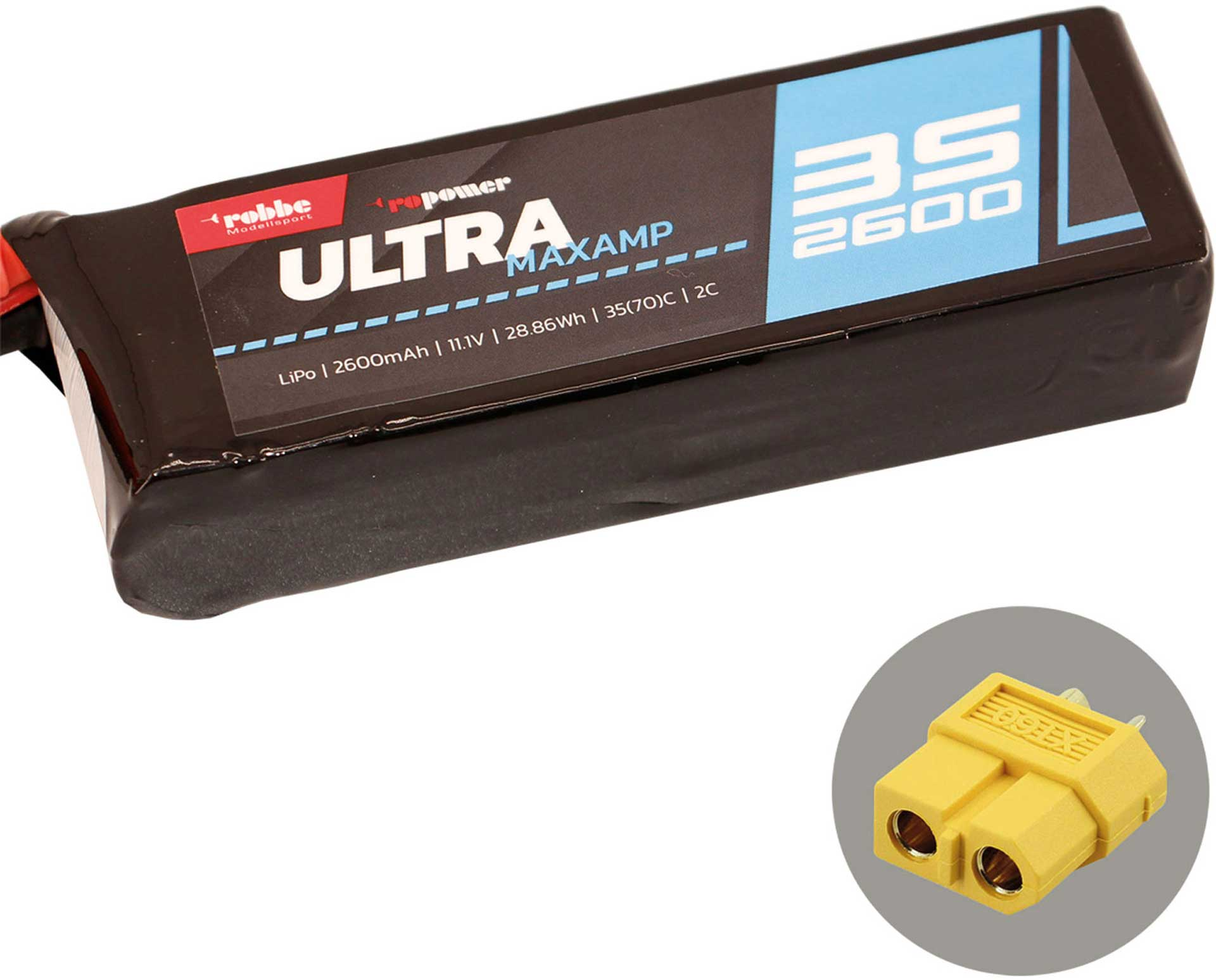 ROBBE RO-POWER ULTRA MAXAMP 2600MAH 11,1 VOLT
