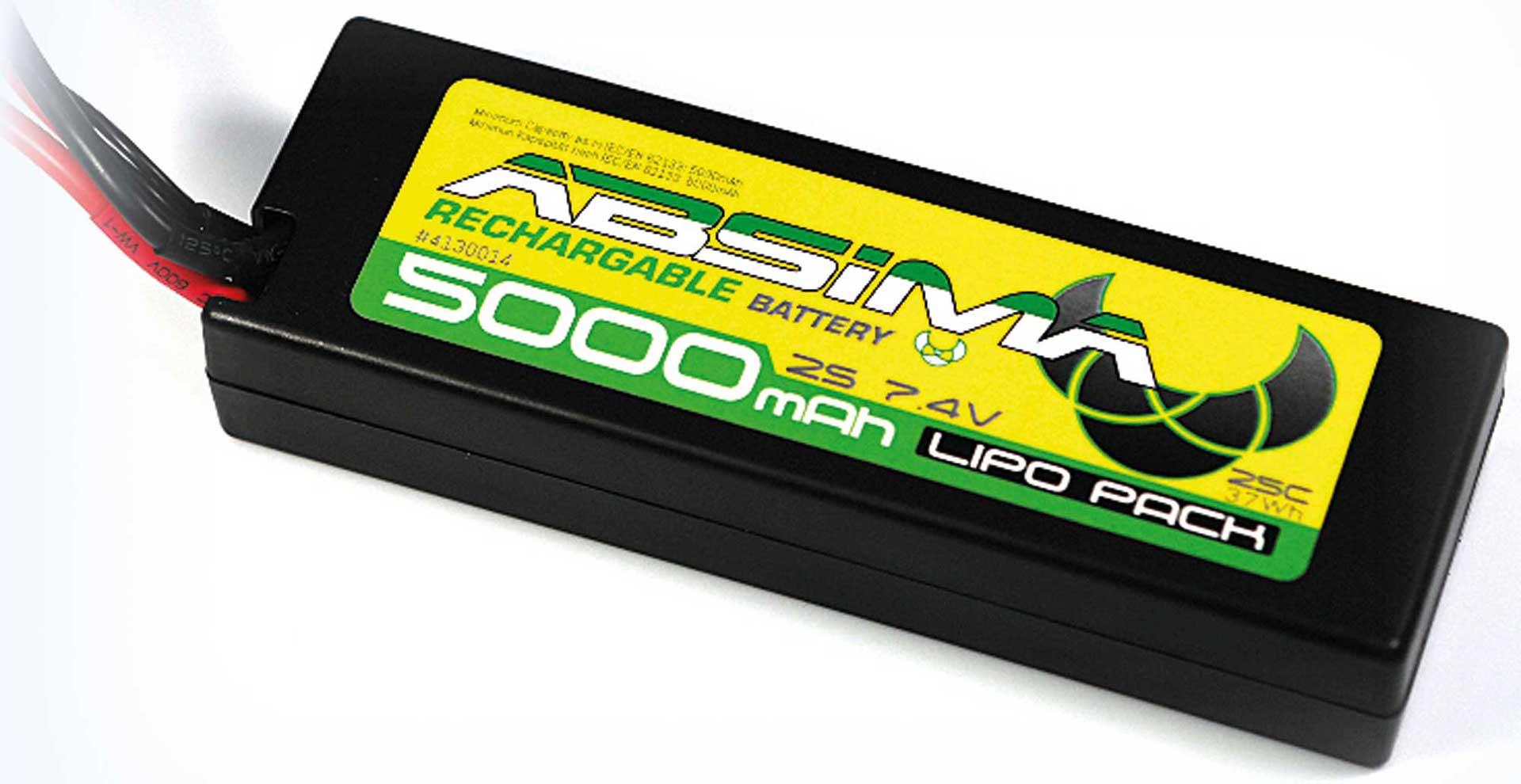 Absima Rookie Speed LiPo Stick Pack 7.4V-25C 5000 Hardcase (TAM-Plug)