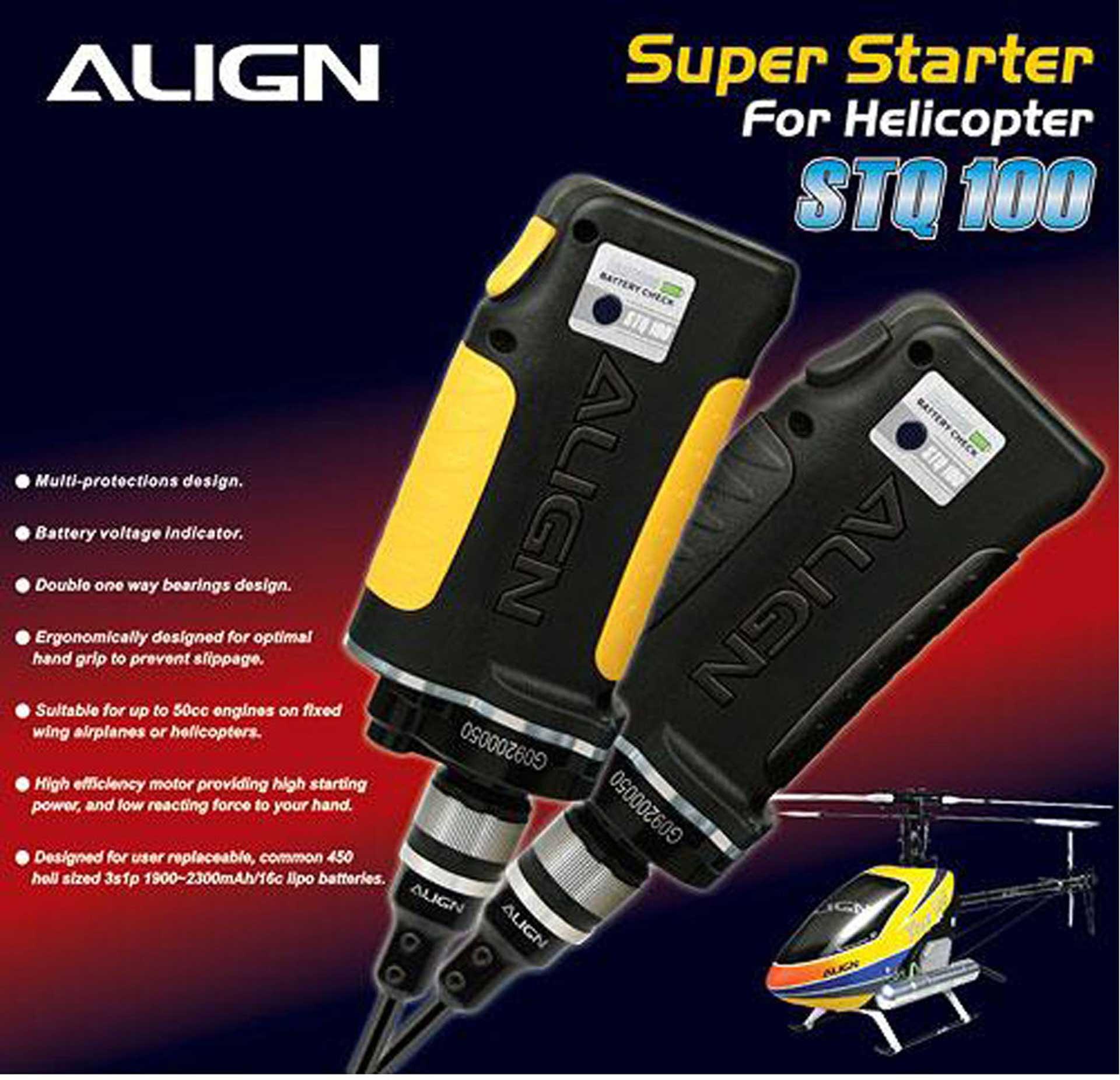 ALIGN Super Starter (Helicopter) schwarz