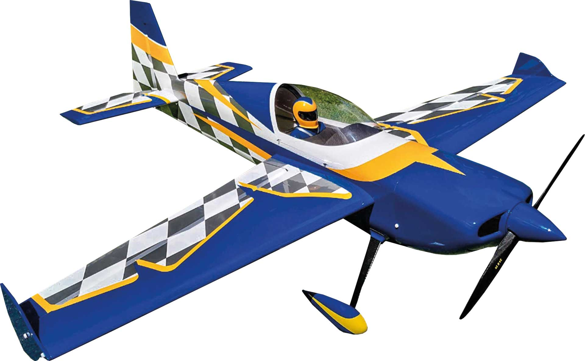 "EXTREMEFLIGHT-RC SLICK 114"" Blau/Weiss ARF"