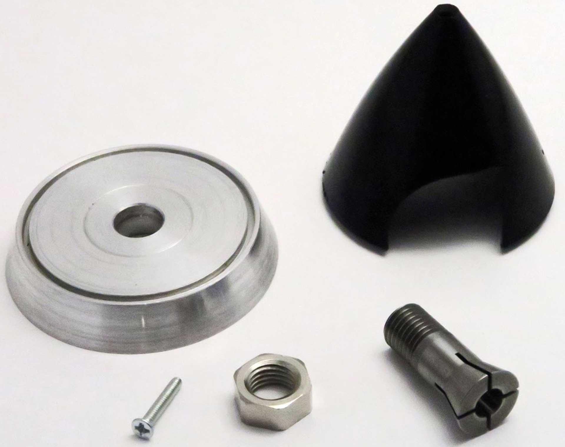 Super Präzisionsspinner 38/6,0 mm für starre Luftschrauben mit 8 mm Bohrdurchmesser