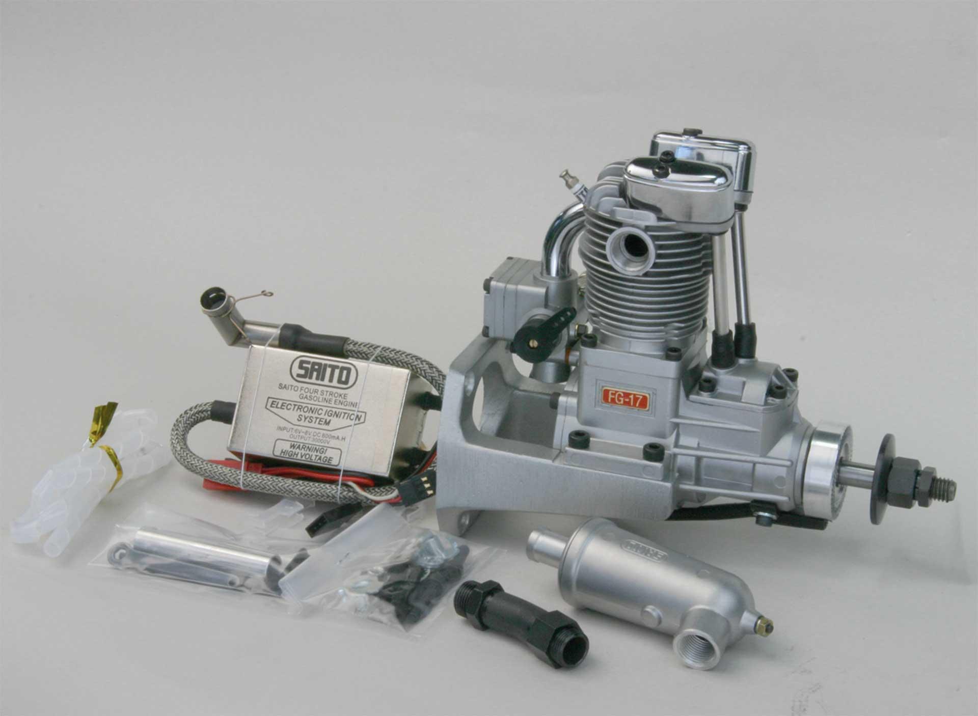 SAITO FG-17 BENZIN MOTOR