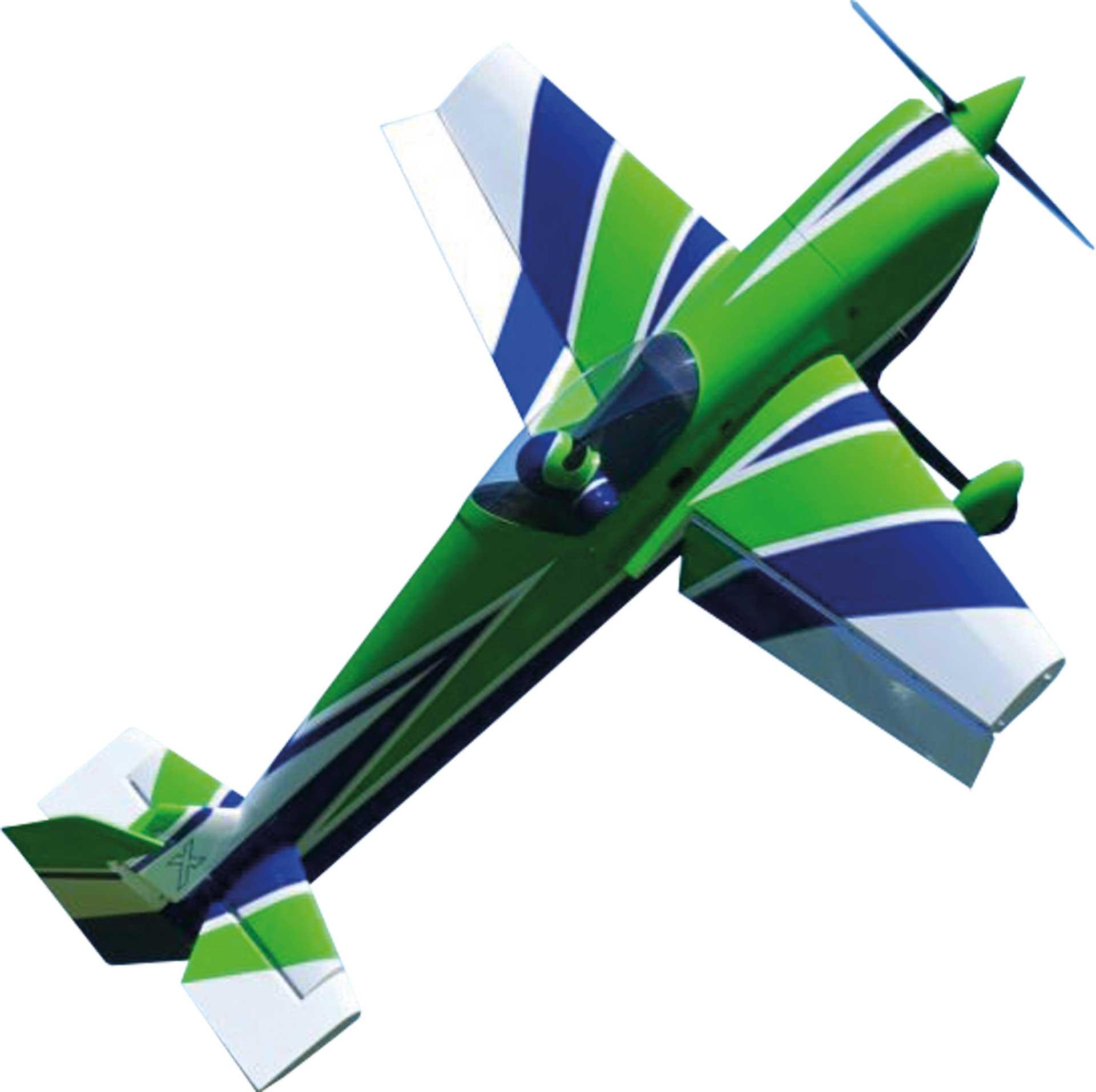 "EXTREMEFLIGHT-RC MXS 85"" vert/BLANC  ARF"