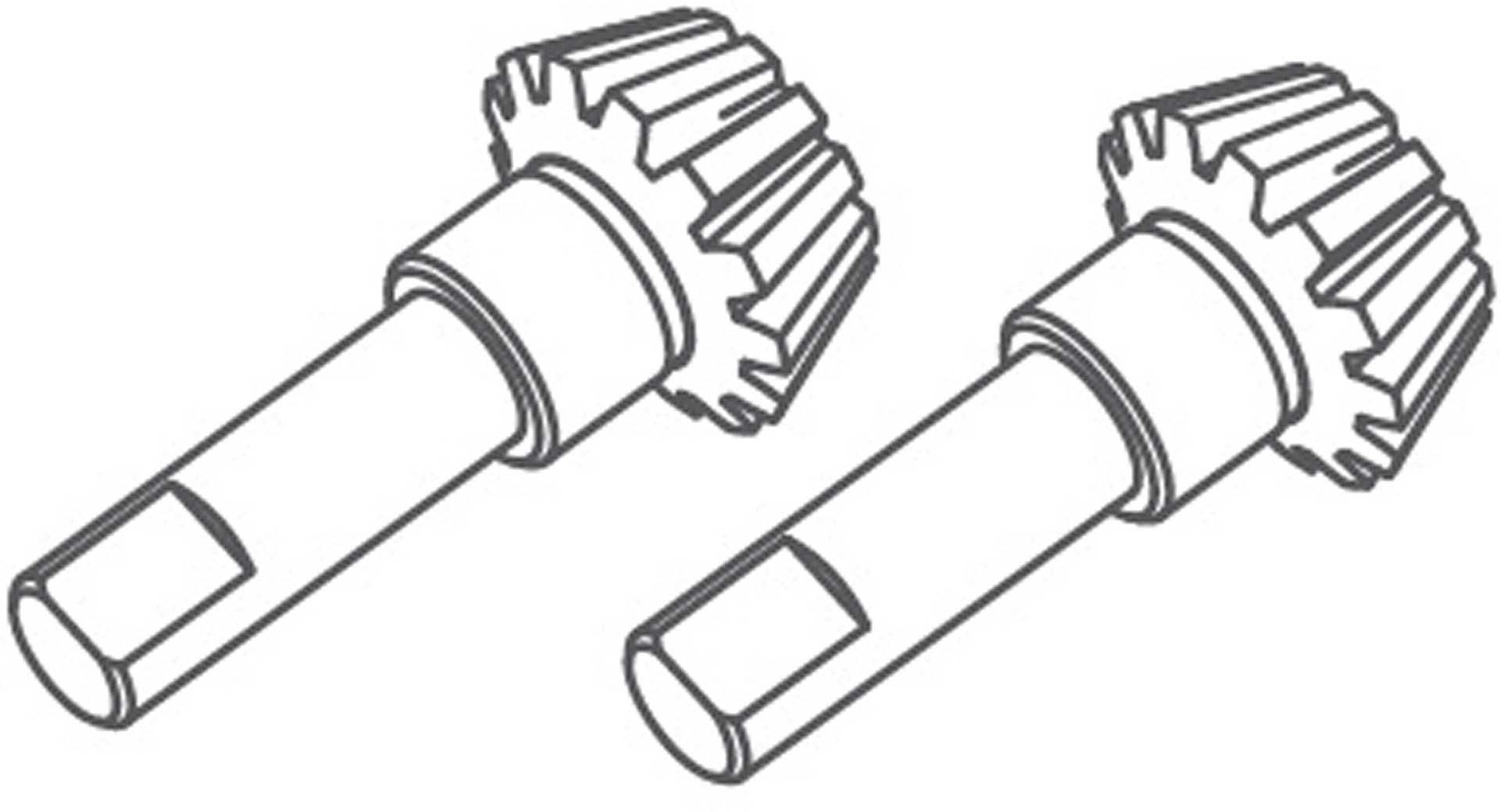 Absima Differentialgetriebe 10Z (2 St.)
