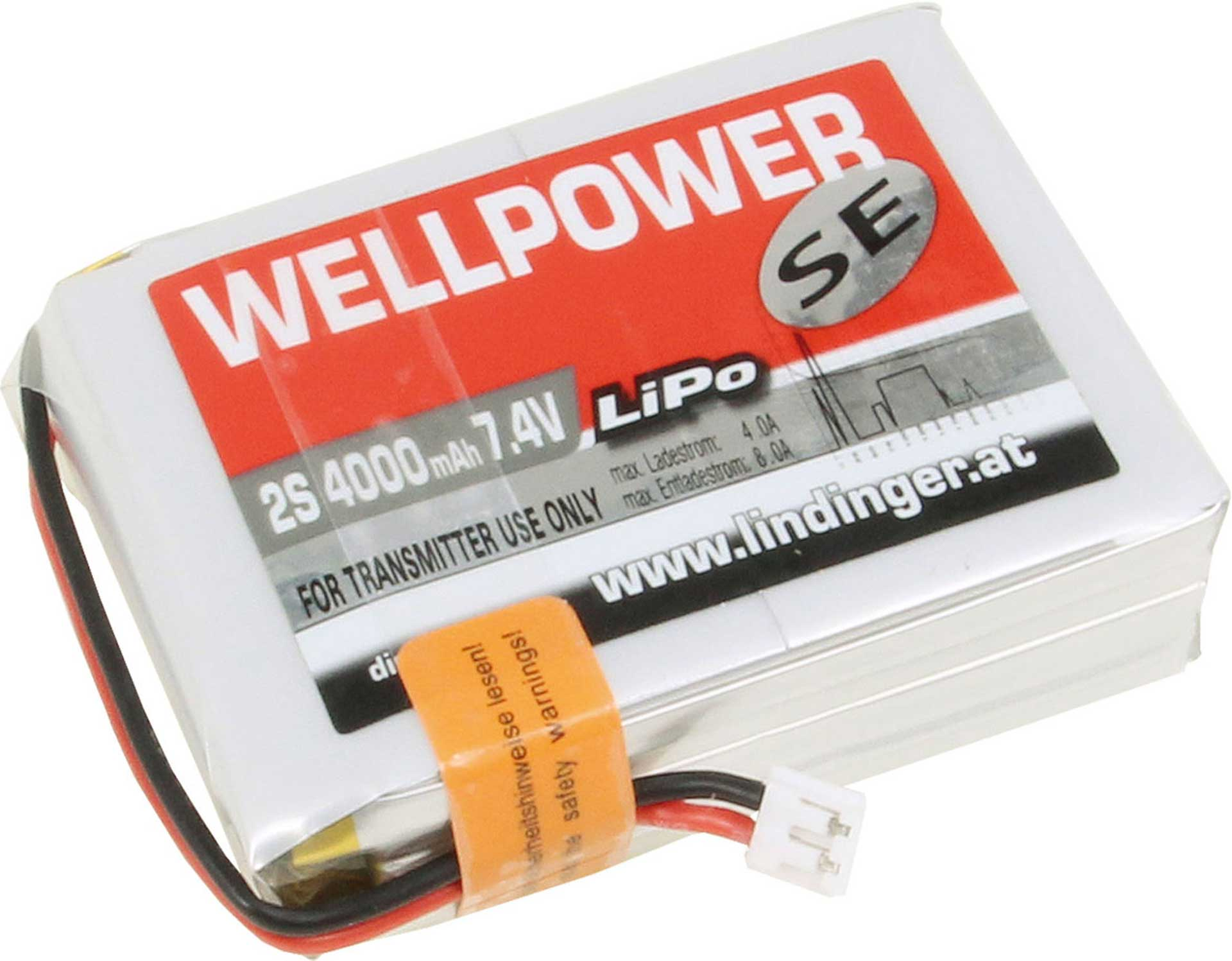 WELLPOWER SE S-AKKU 4000MAH/7,4V DX7/DX8