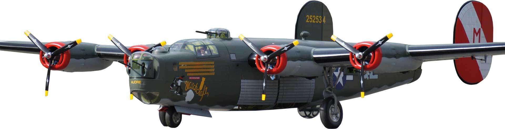 VQ MODELS B-24 LIBERATOR 2,8M ARF WARBIRD 4-MOTORIG