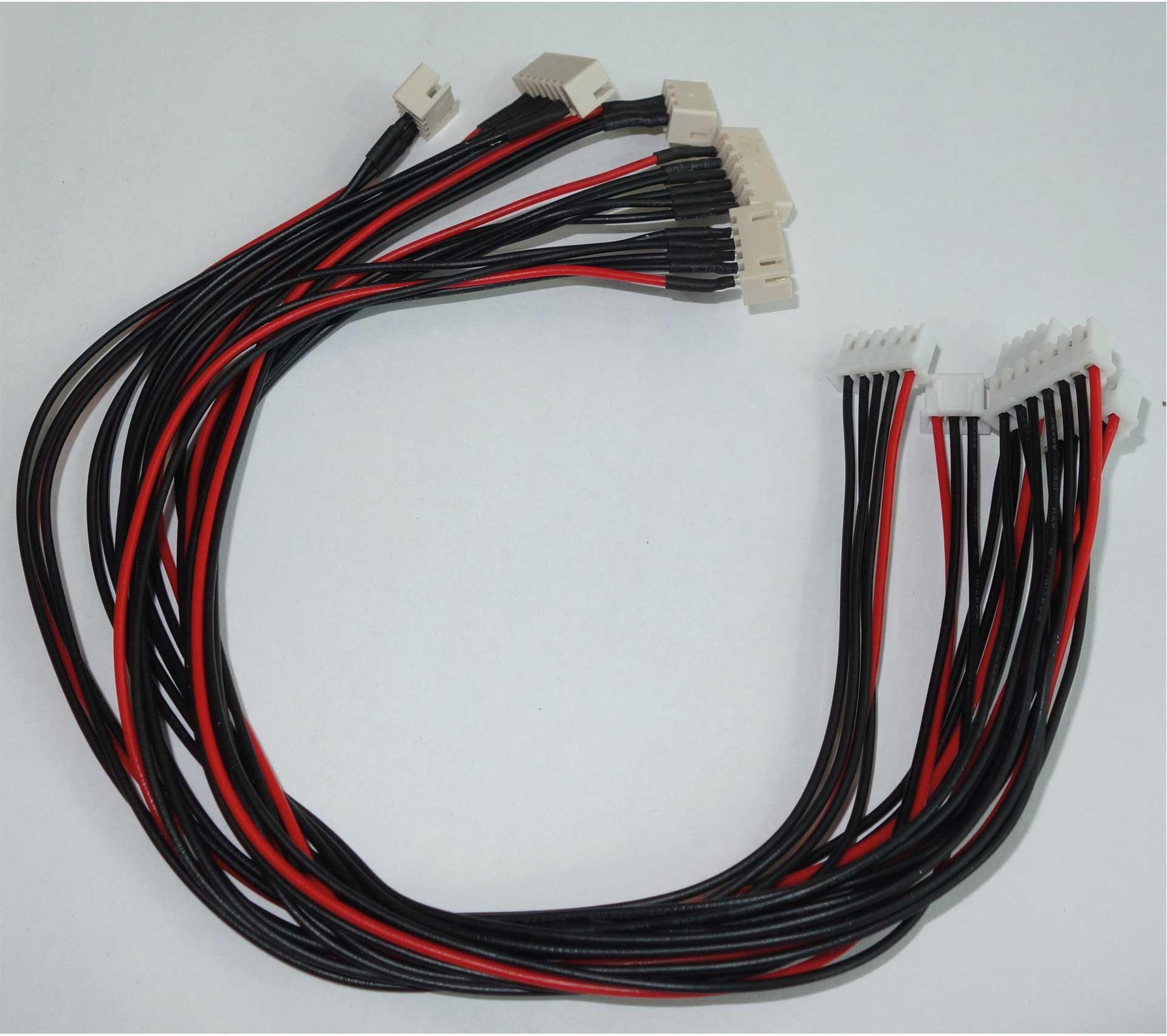 Robbe Modellsport Câble prolongateur d'équilibreur RO-Safety JST-XH 5 Balancer Kabel Set von 2-6S