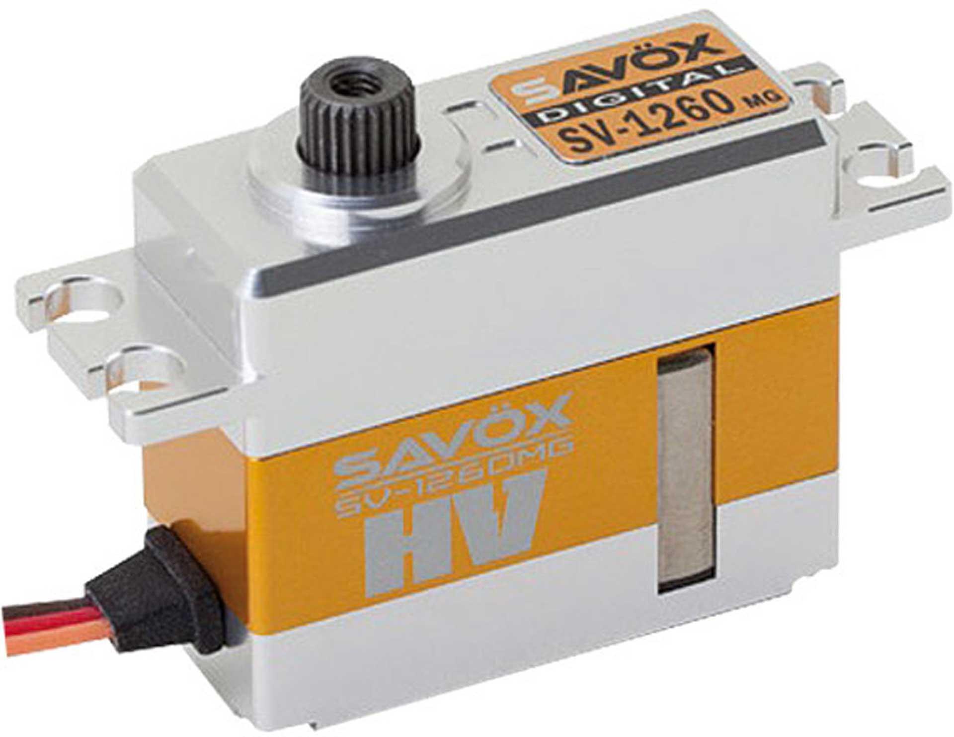 SAVÖX SV-1260MG SERVO HV MIDI SERVO