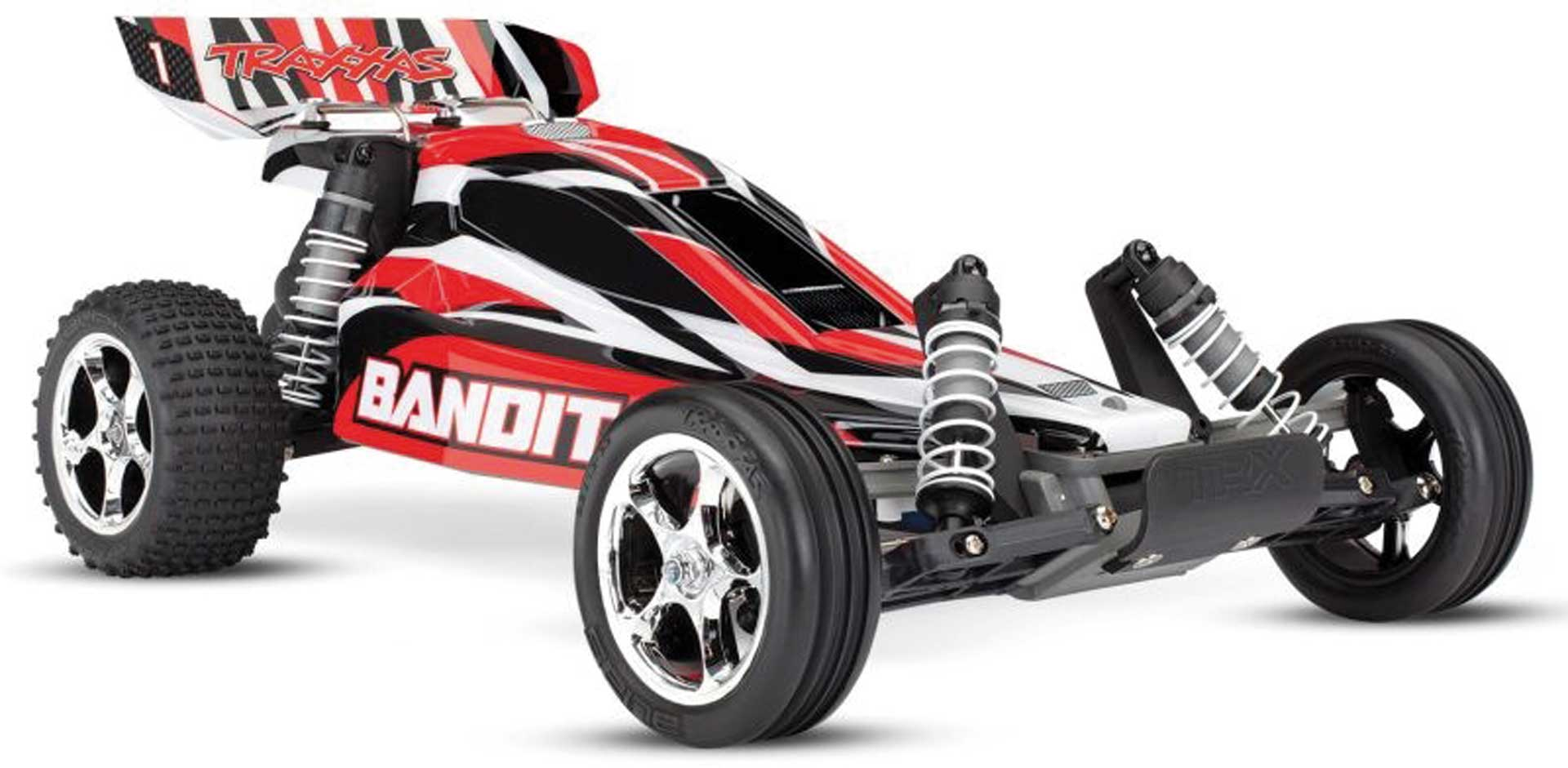 Traxxas BANDIT ROT-X BUGGY RTR MIT AKKU/+12V LADER 1/10 2WD BUGGY BRUSHED