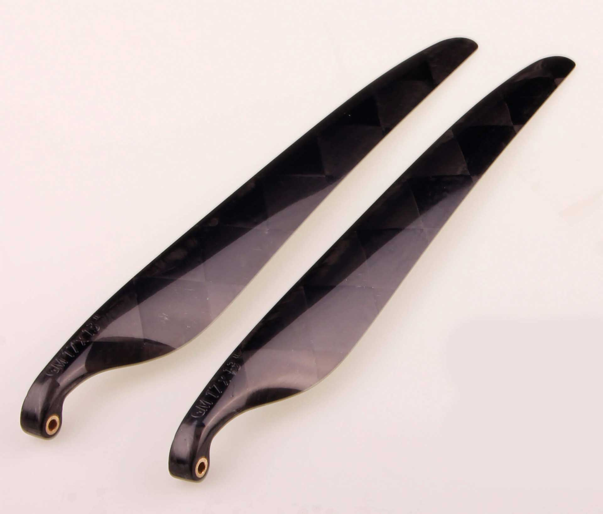 GM Propellers Folding propeller F5J 17x13 Carbon black 1 pair