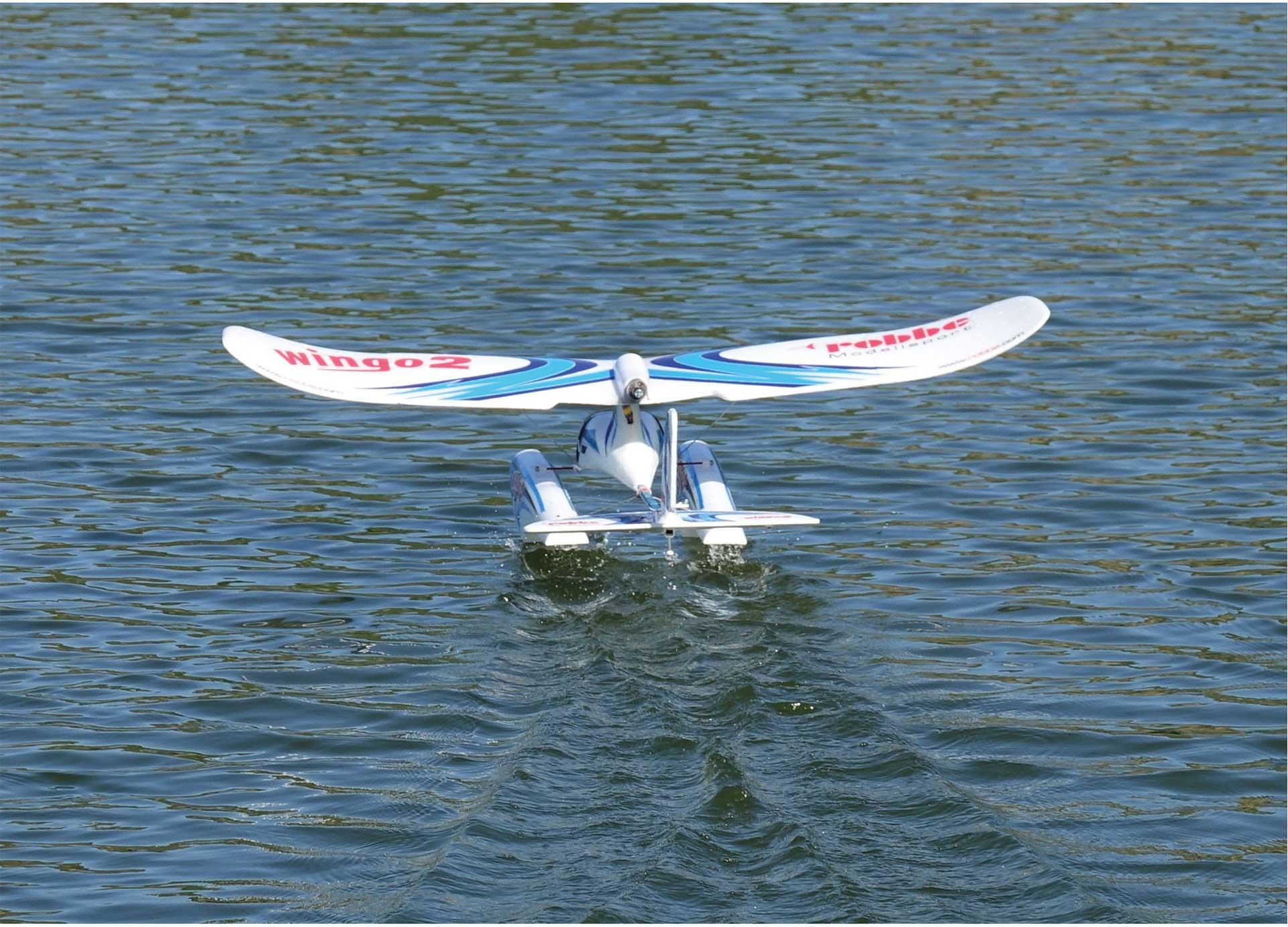 """ROBBE WINGO 2 PNP """"YOU CAN FLY"""" VORMONTIERT MIT BRUSHLESS MOTOR, REGLER UND SERVO"""