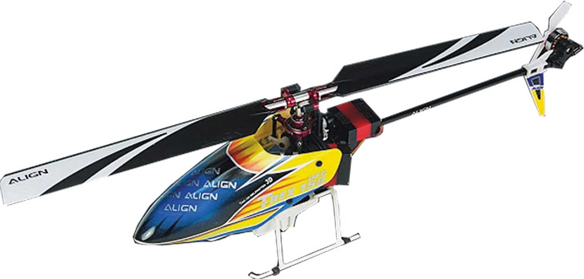 ALIGN T-REX 150X DFC SUPER COMBO BTF Hubschrauber / Helikopter