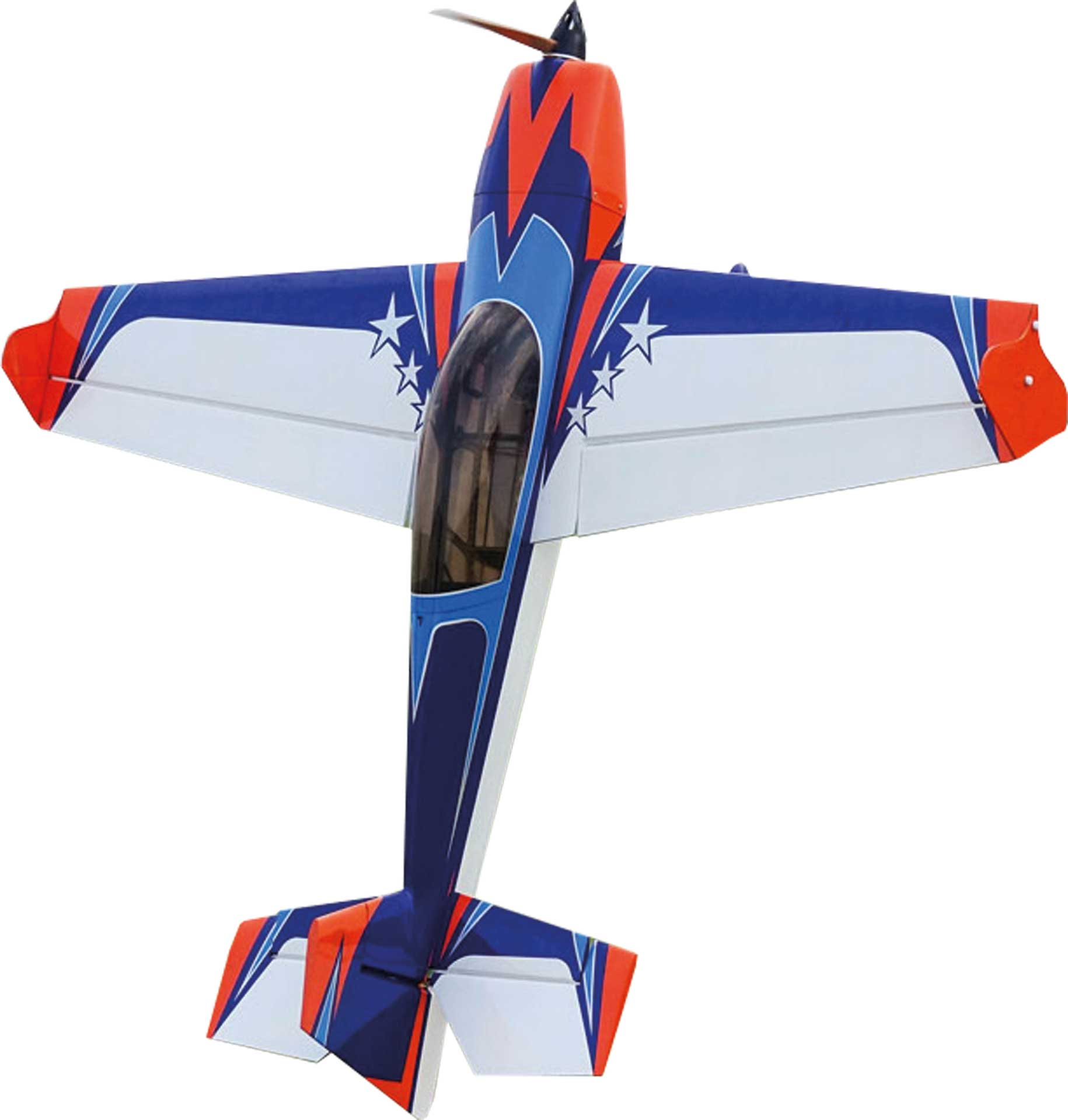 "EXTREMEFLIGHT-RC EXTRA 300 48"" V2 ORANGE/BLAU/WEISS ARF"