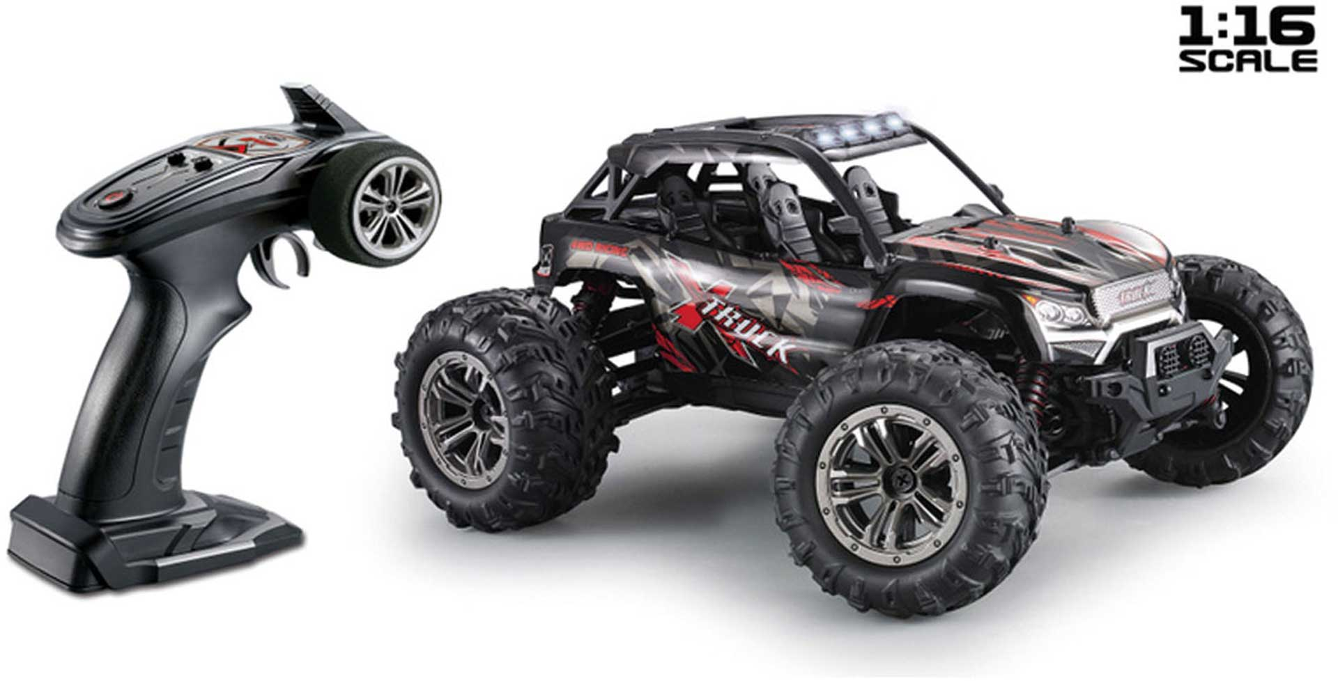 ABSIMA HIGH SPEED SAND BUGGY X TRUCK 4WD RTR 1/16 SCHWARZ/ROT