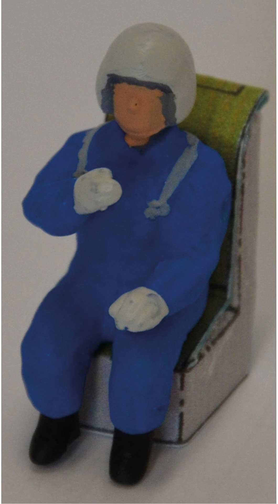 "AR Modellpiloten Jetpilot ""Jim R12"" Farbe blau"
