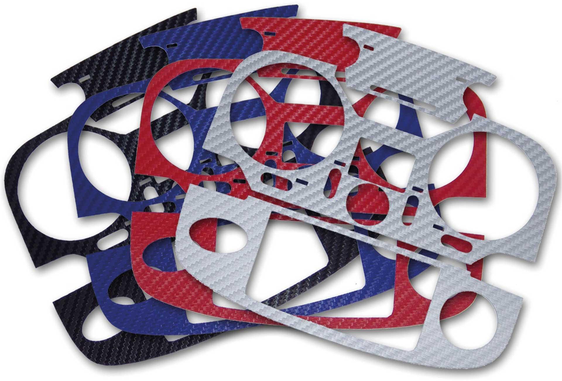 ACT T12K 3D-Folie Carbonlook 4er Set (4 Farben)
