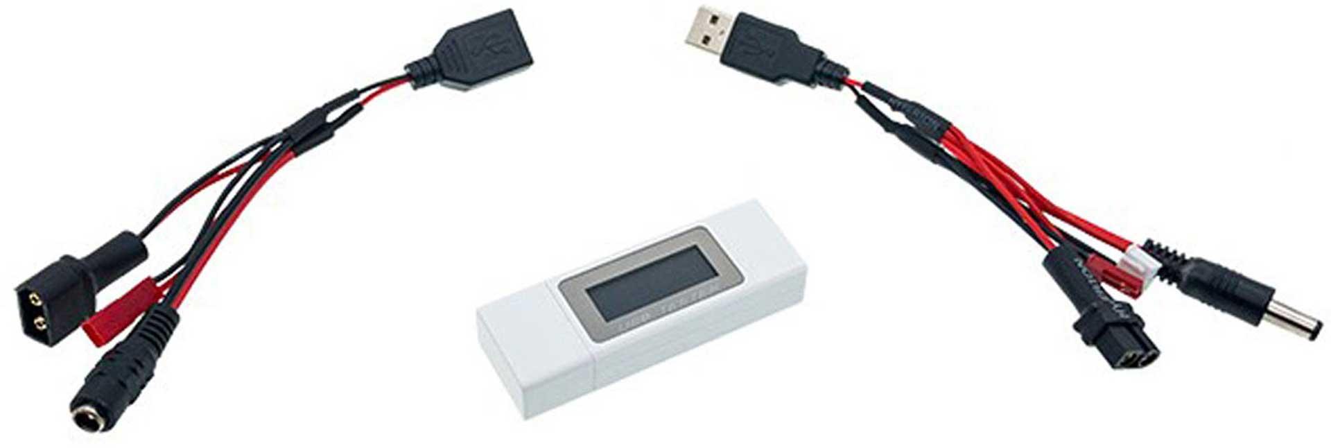 HYPERION MULTITESTER POWER METER 4-30V/5A USB