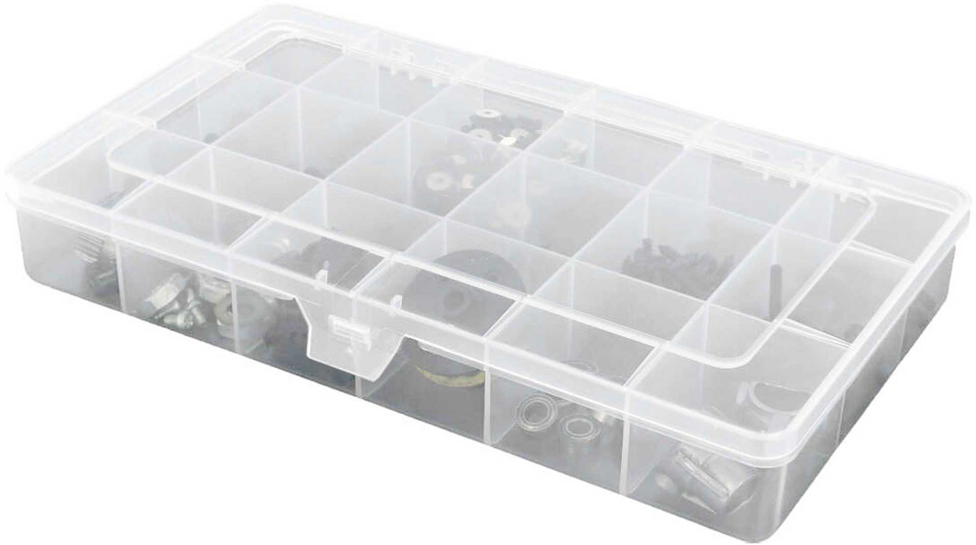 ROBITRONIC SORTING BOX 18 COMPARTMENTS FIXED 210X119X34.5 MM